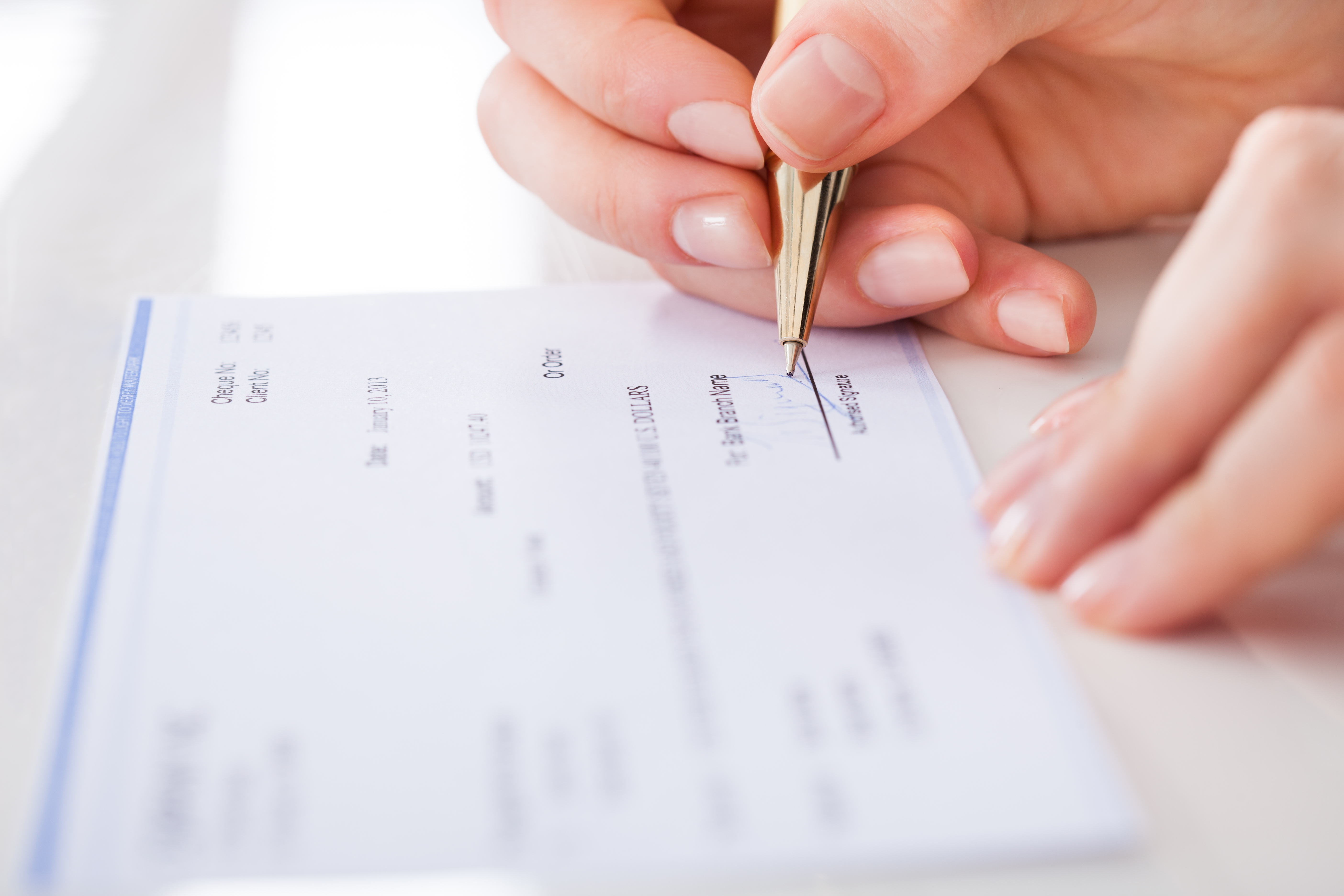 How to endorse a check as a power of attorney legalbeagle ccuart Image collections
