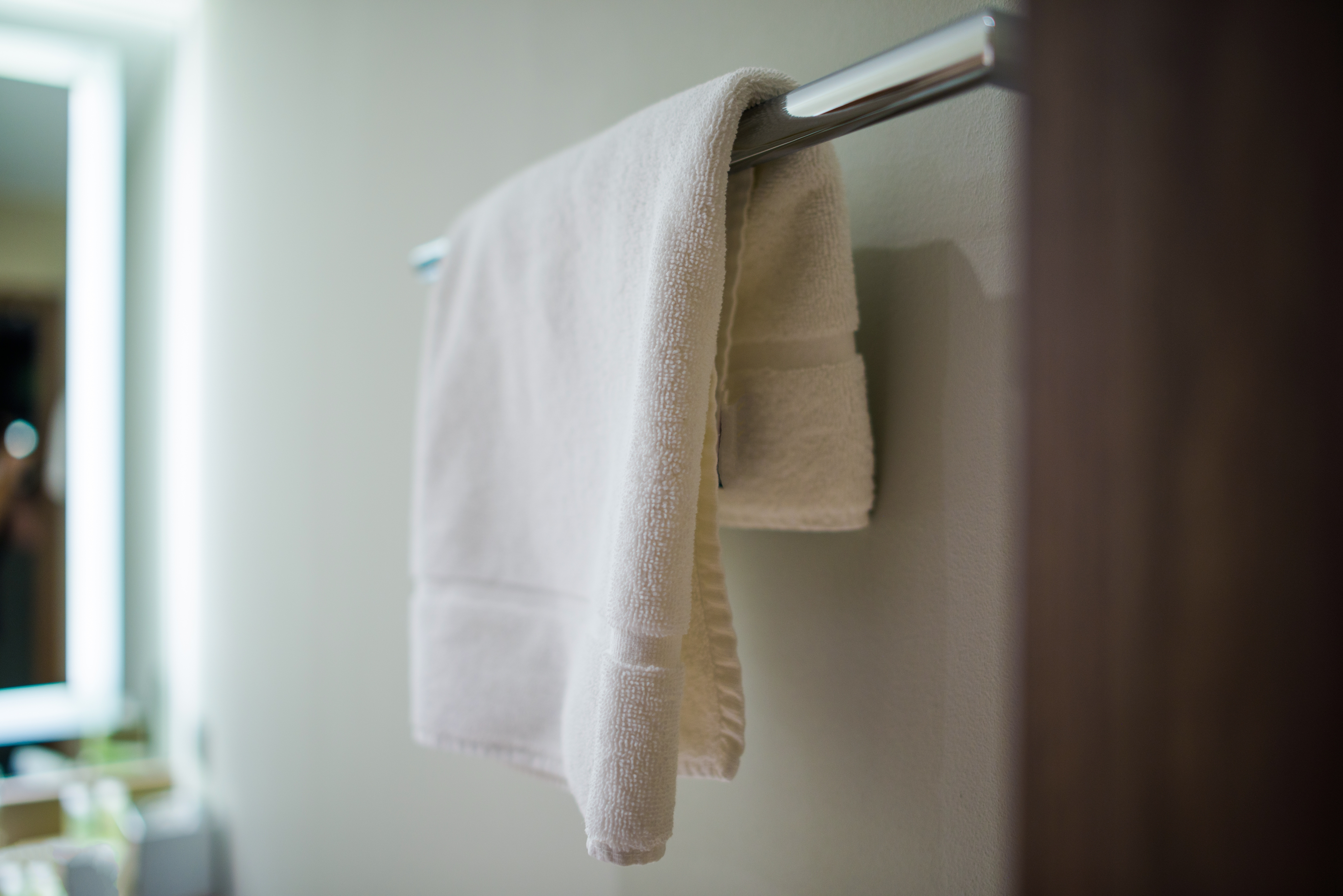 Proper Height For Towel Bar Installation Hunker