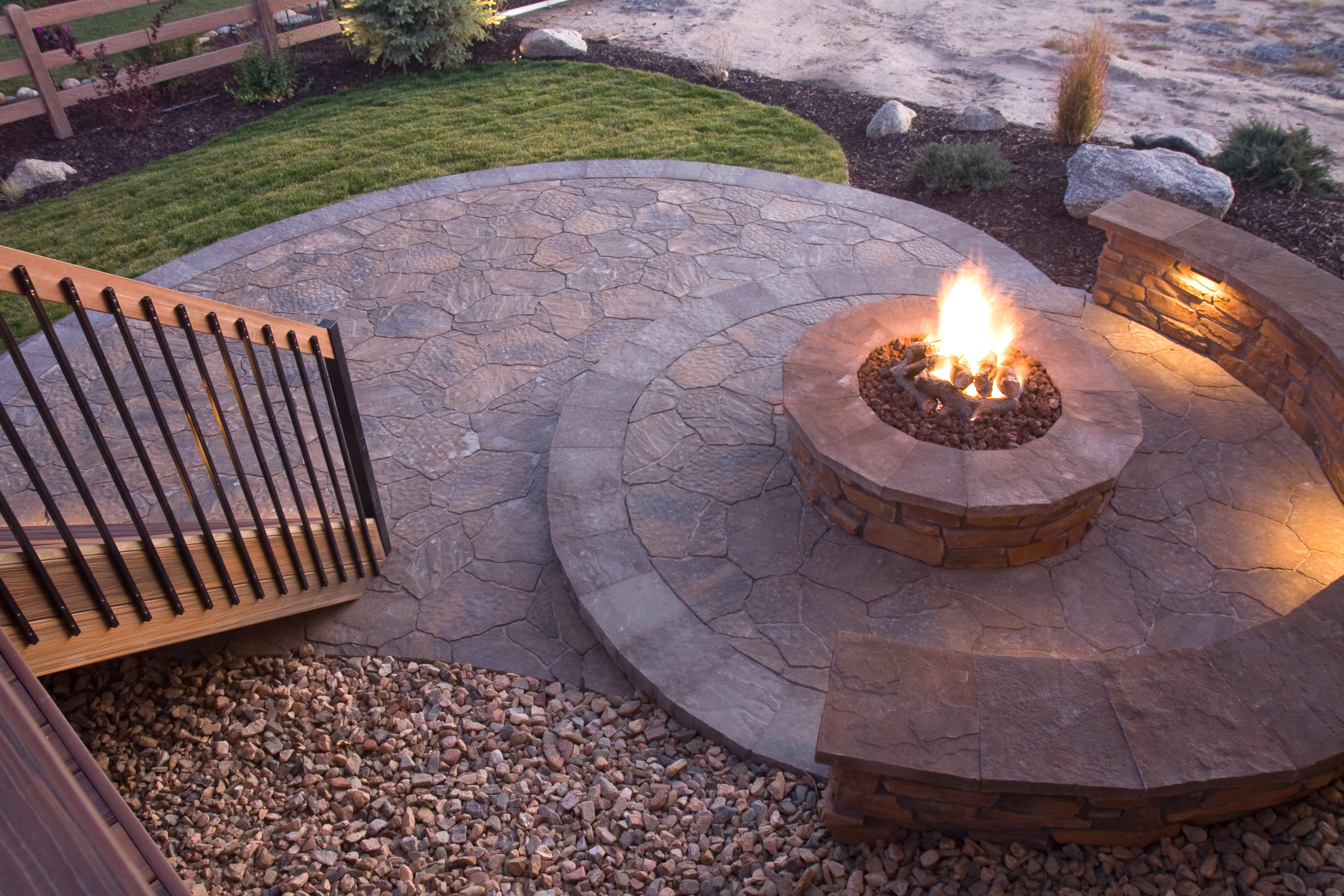 How To Use Red Lava Rock In Fire Pits