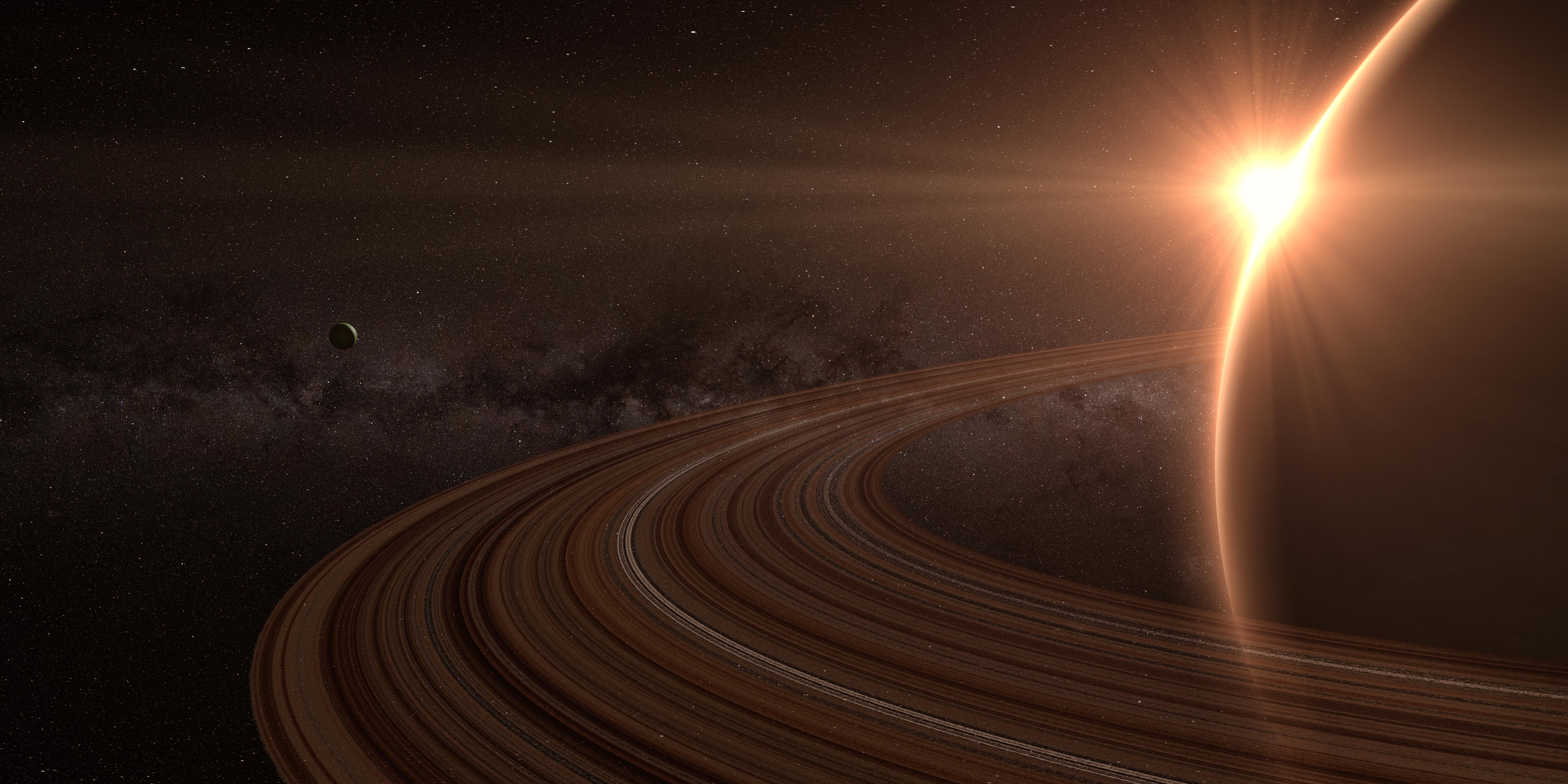 Saturn's Temperature Ranges