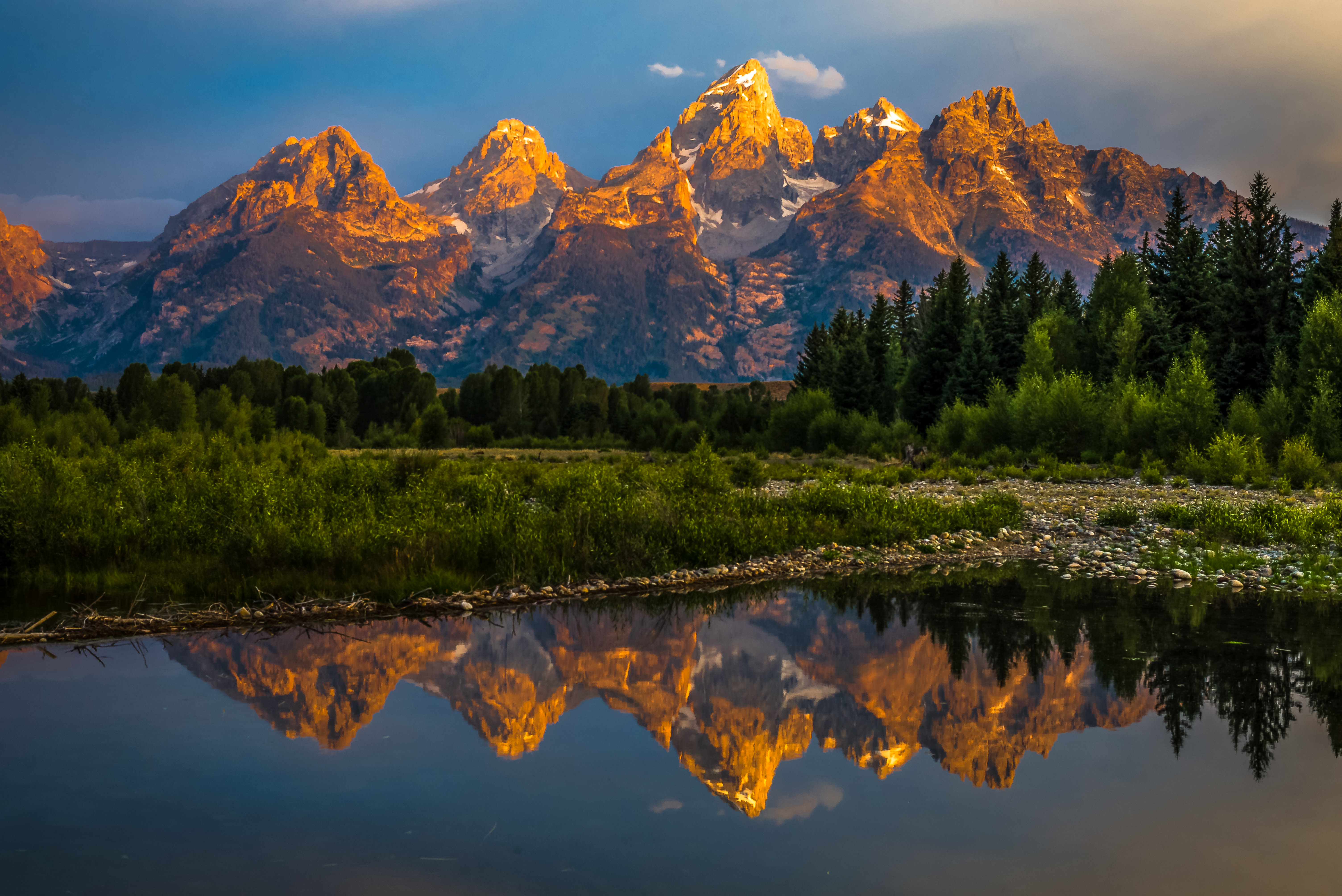 Landscape Of Wyoming
