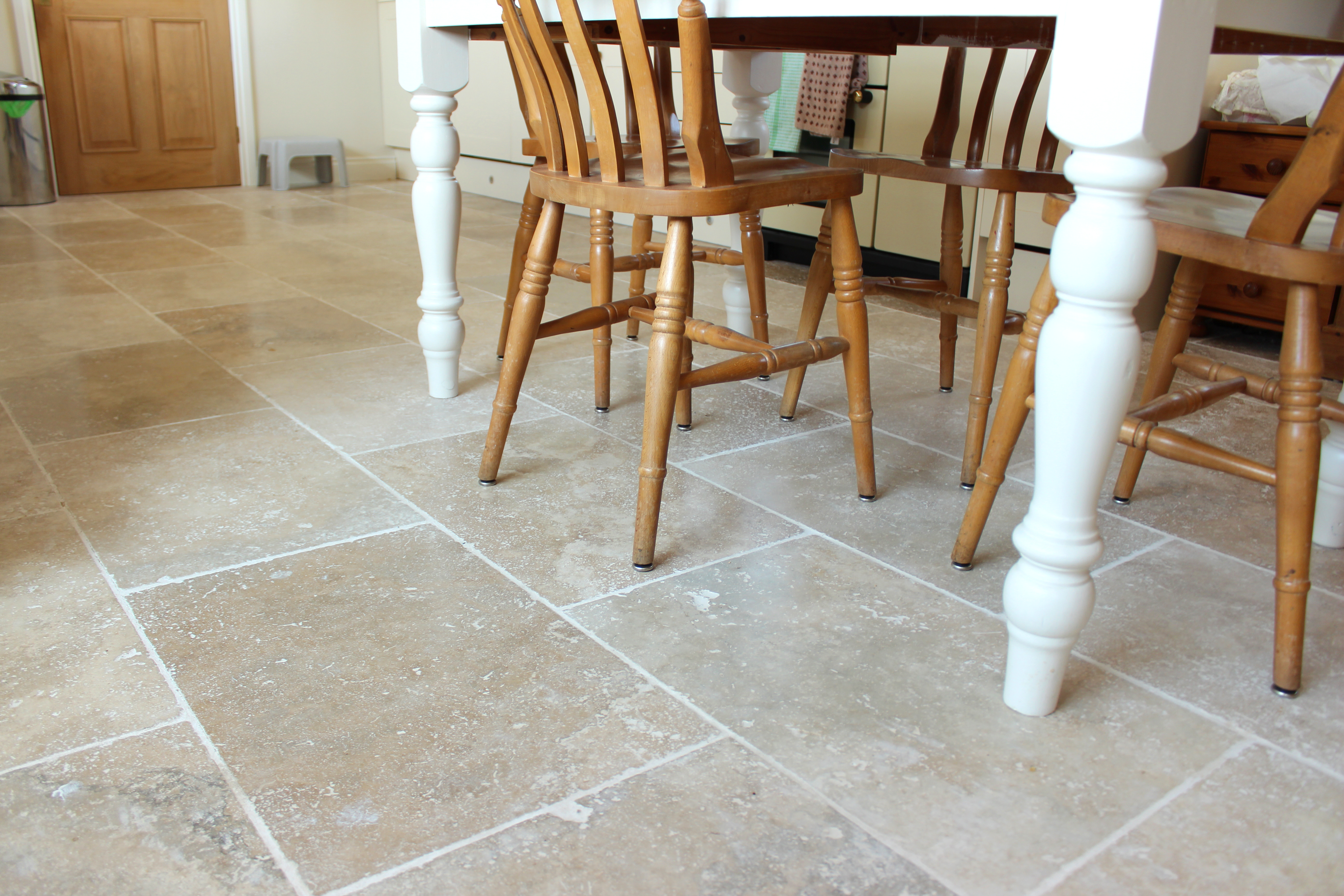 How to Stain Travertine Tile  Hunker