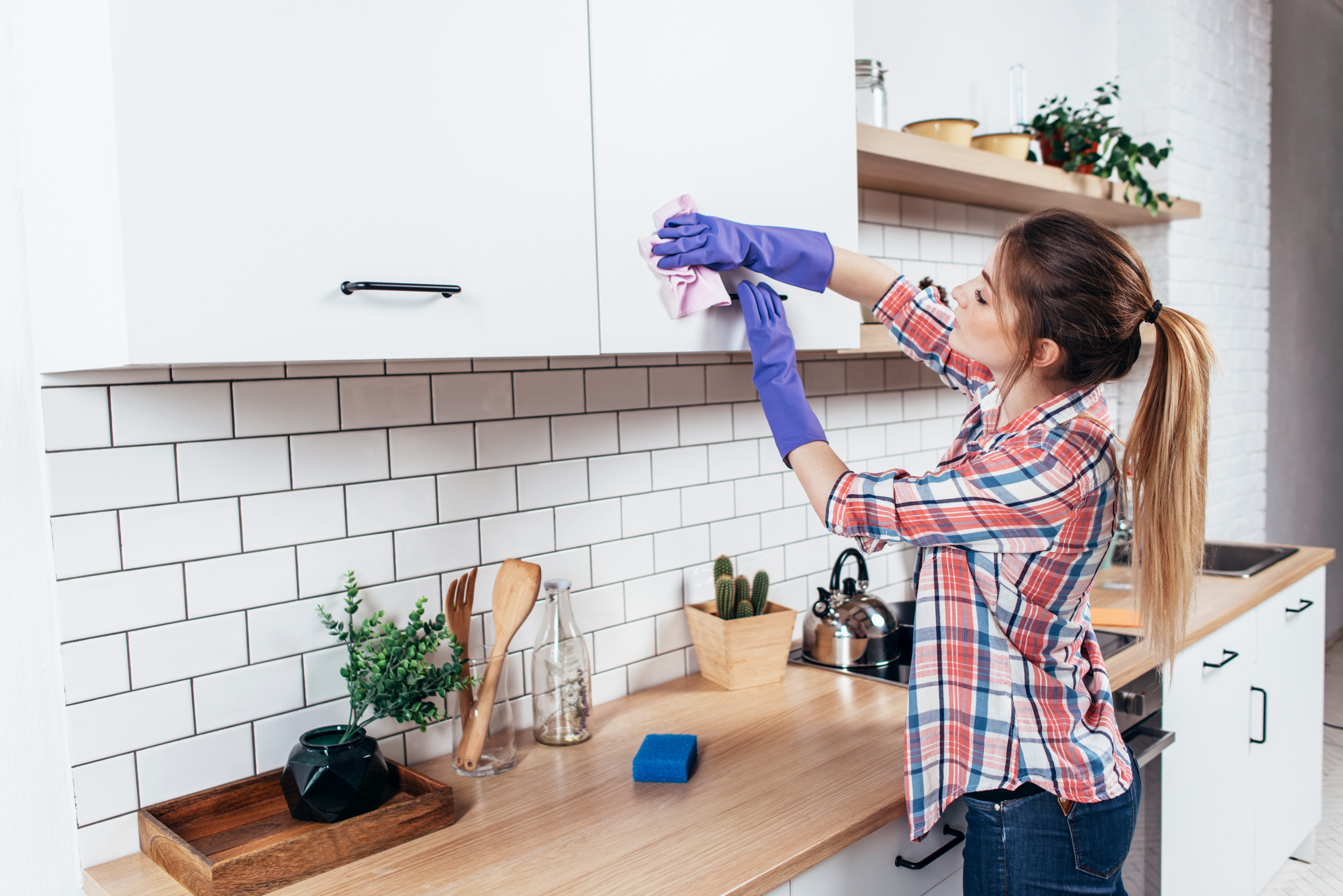 How Can I Get Old Kitchen Cabinets to Stop Smelling Old