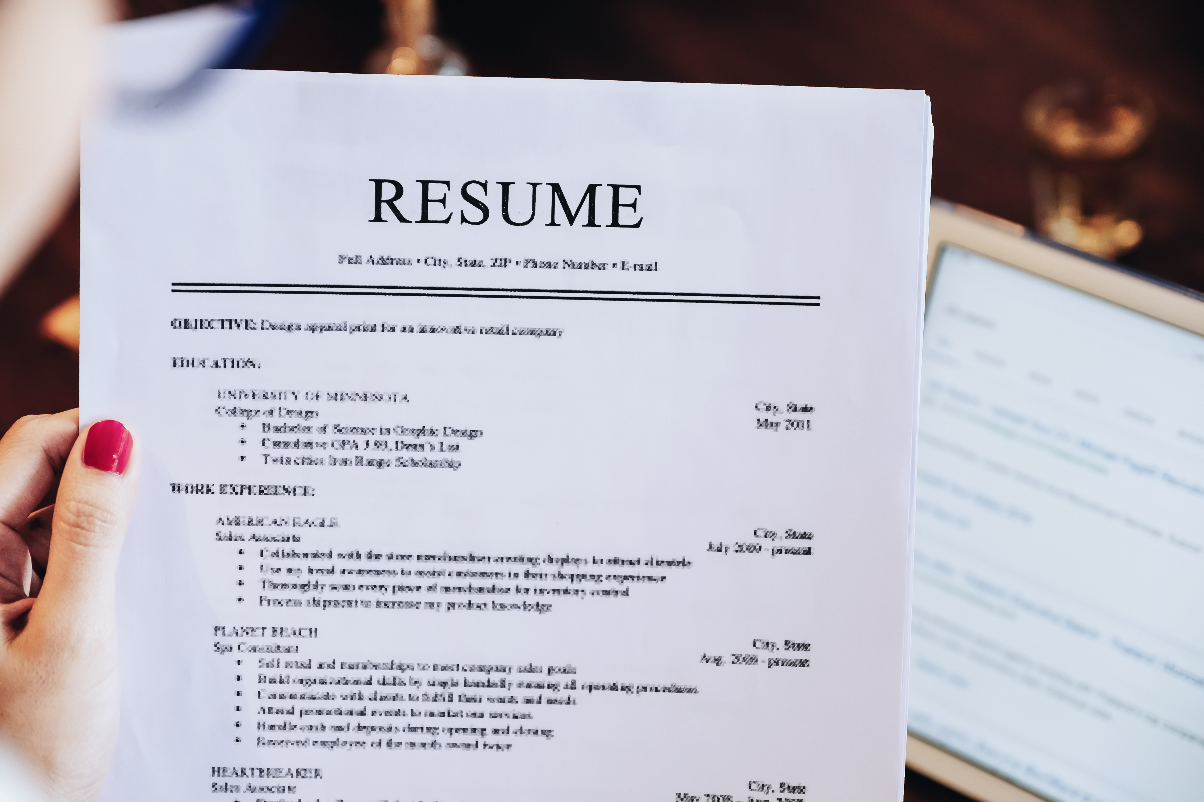How To List Church Activities On Resumes