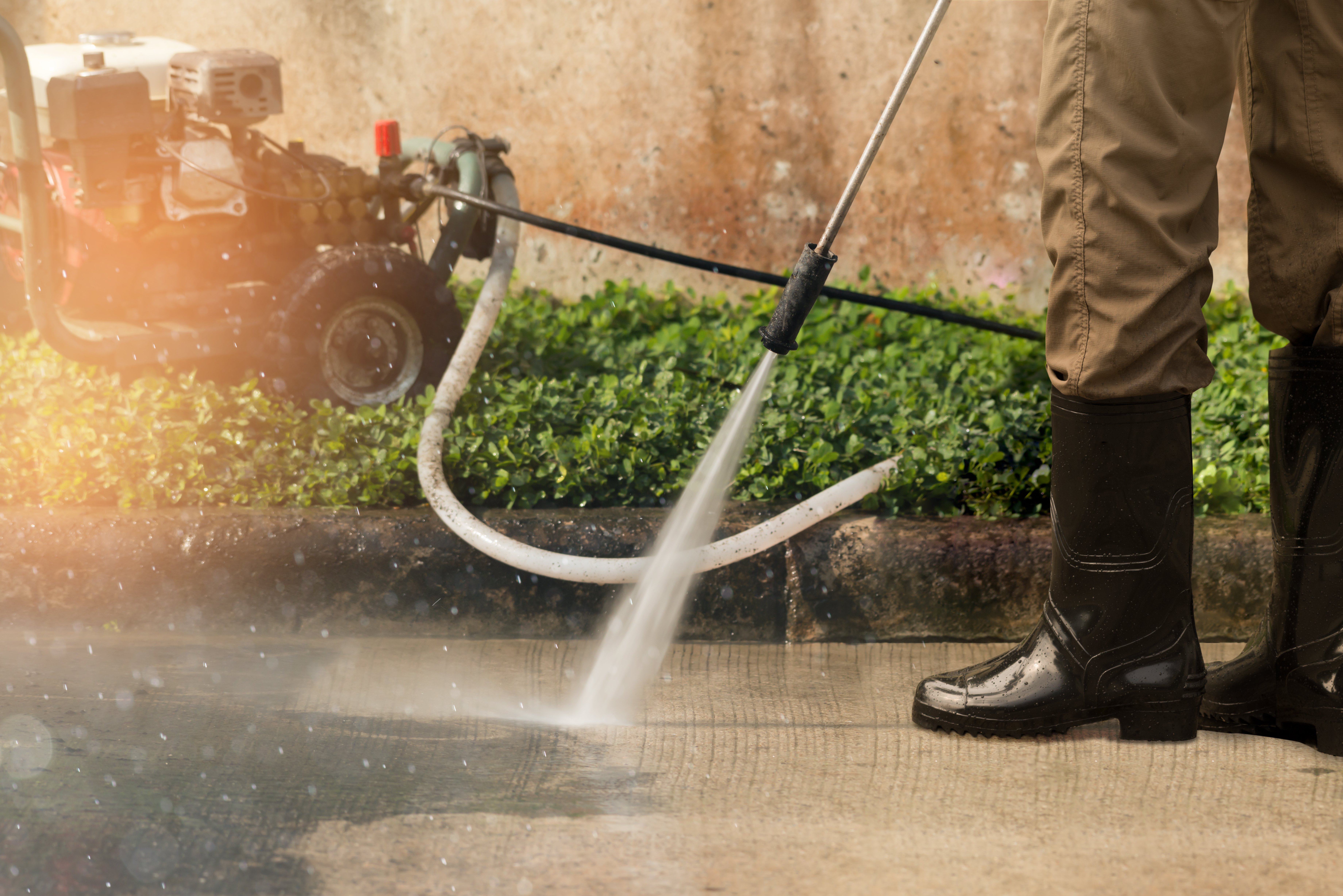 How to Clean Your Driveway Without a Power Washer | Home