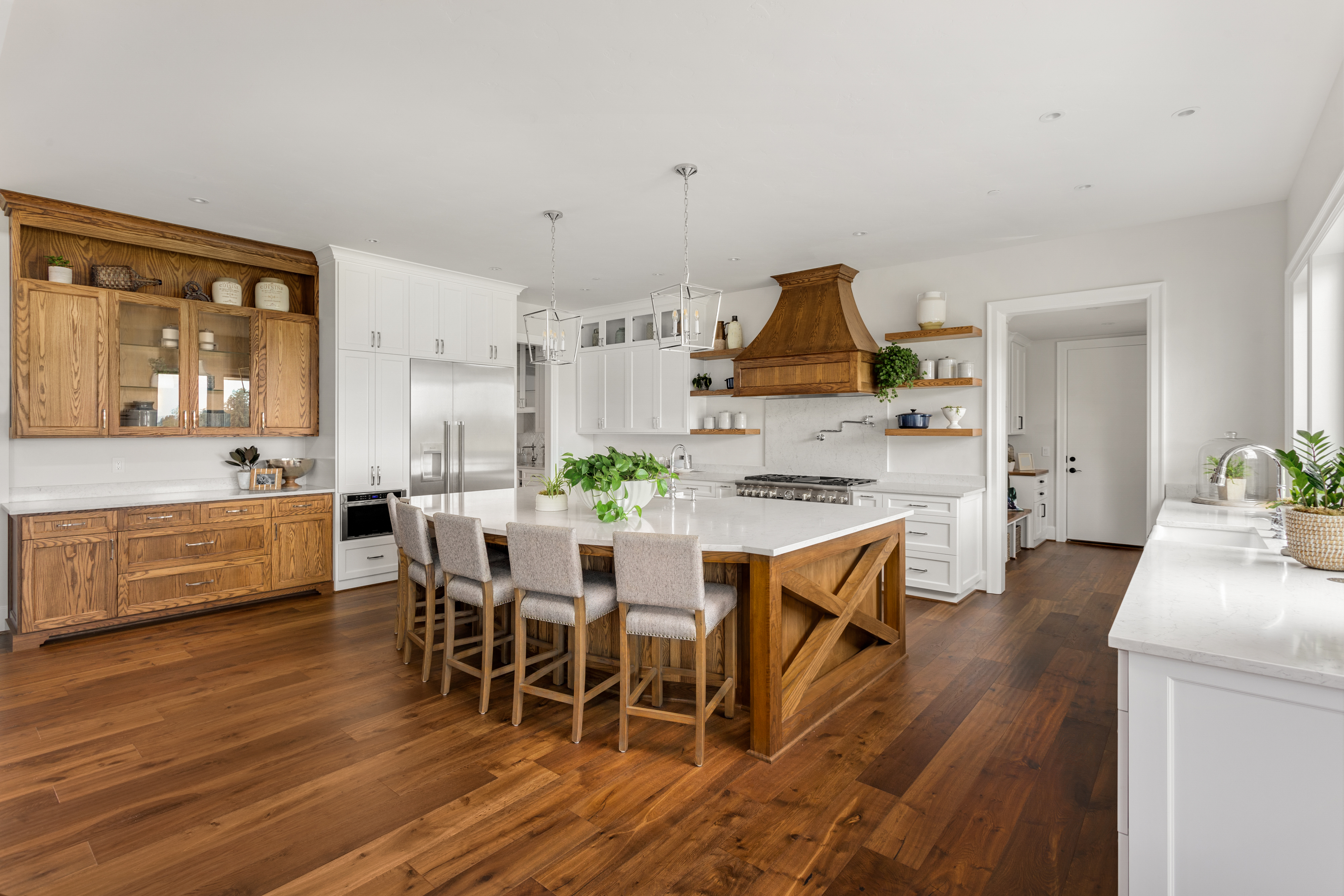 What Is The Recommended Distance Between A Kitchen Counter A Kitchen Island Hunker