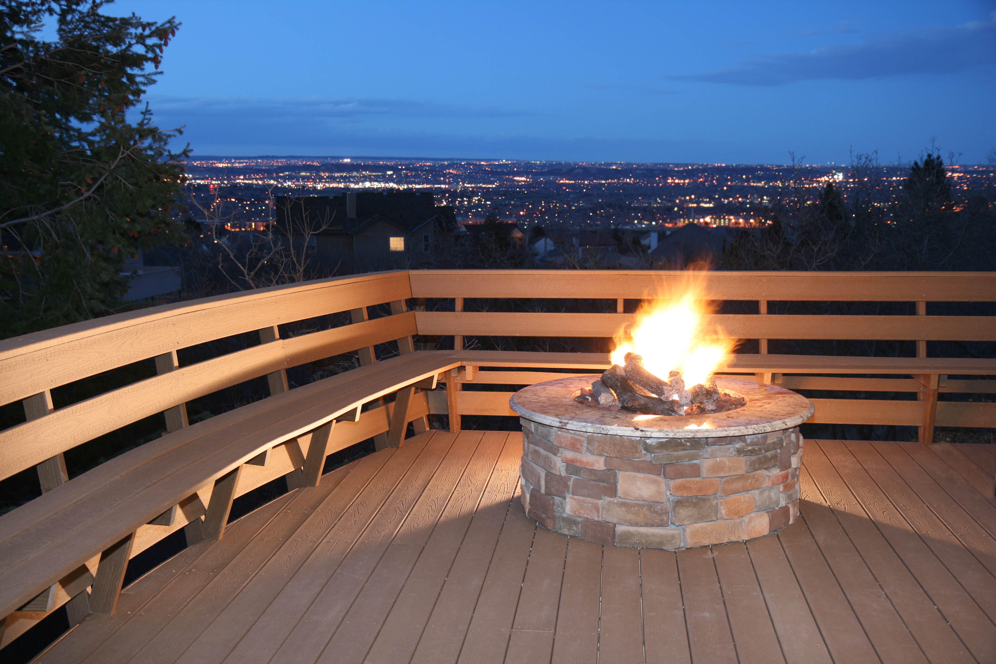 Fire Pit Mat For Wood Deck
