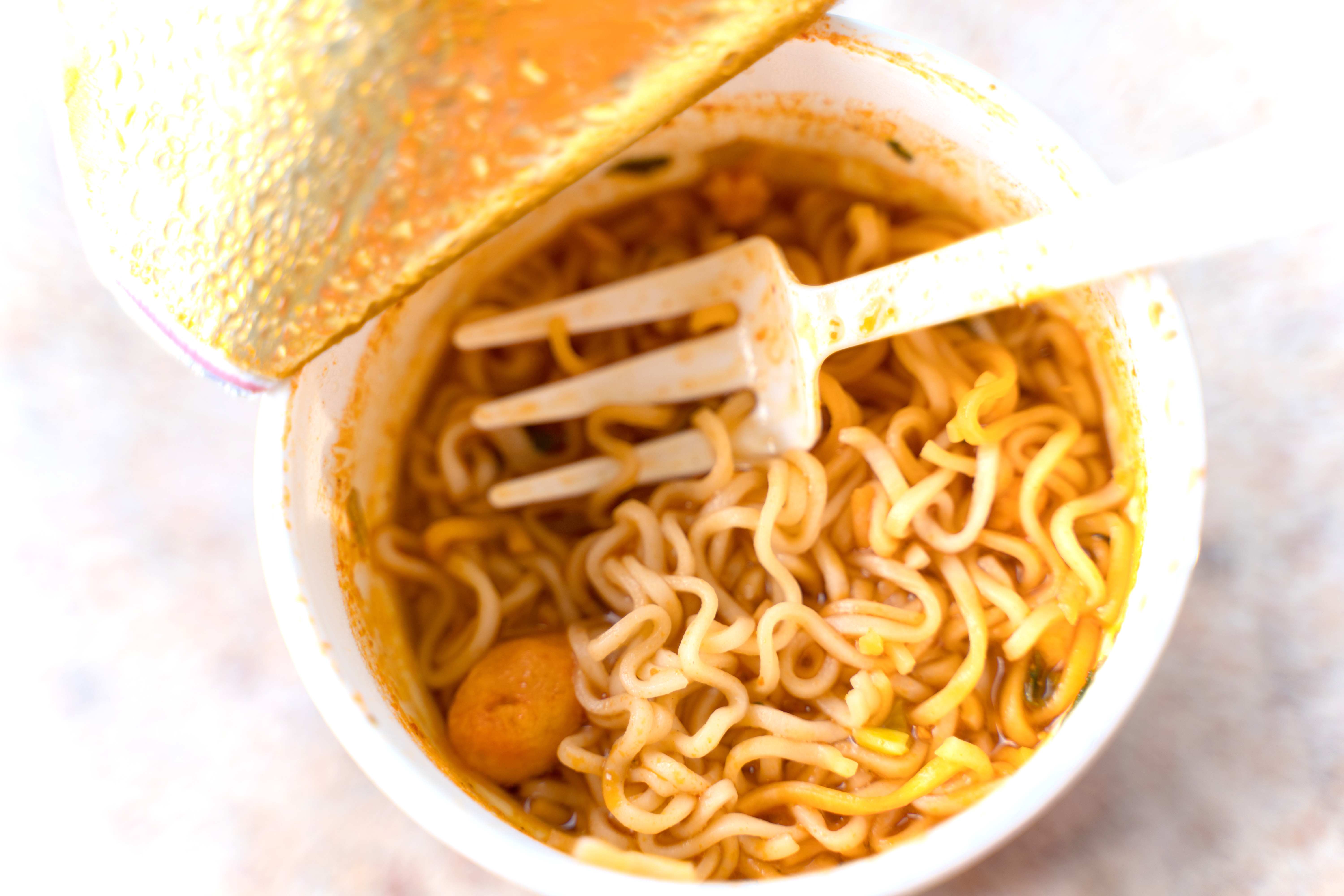 Nutrition Facts for Hot & Spicy Cup of Noodles   Healthy