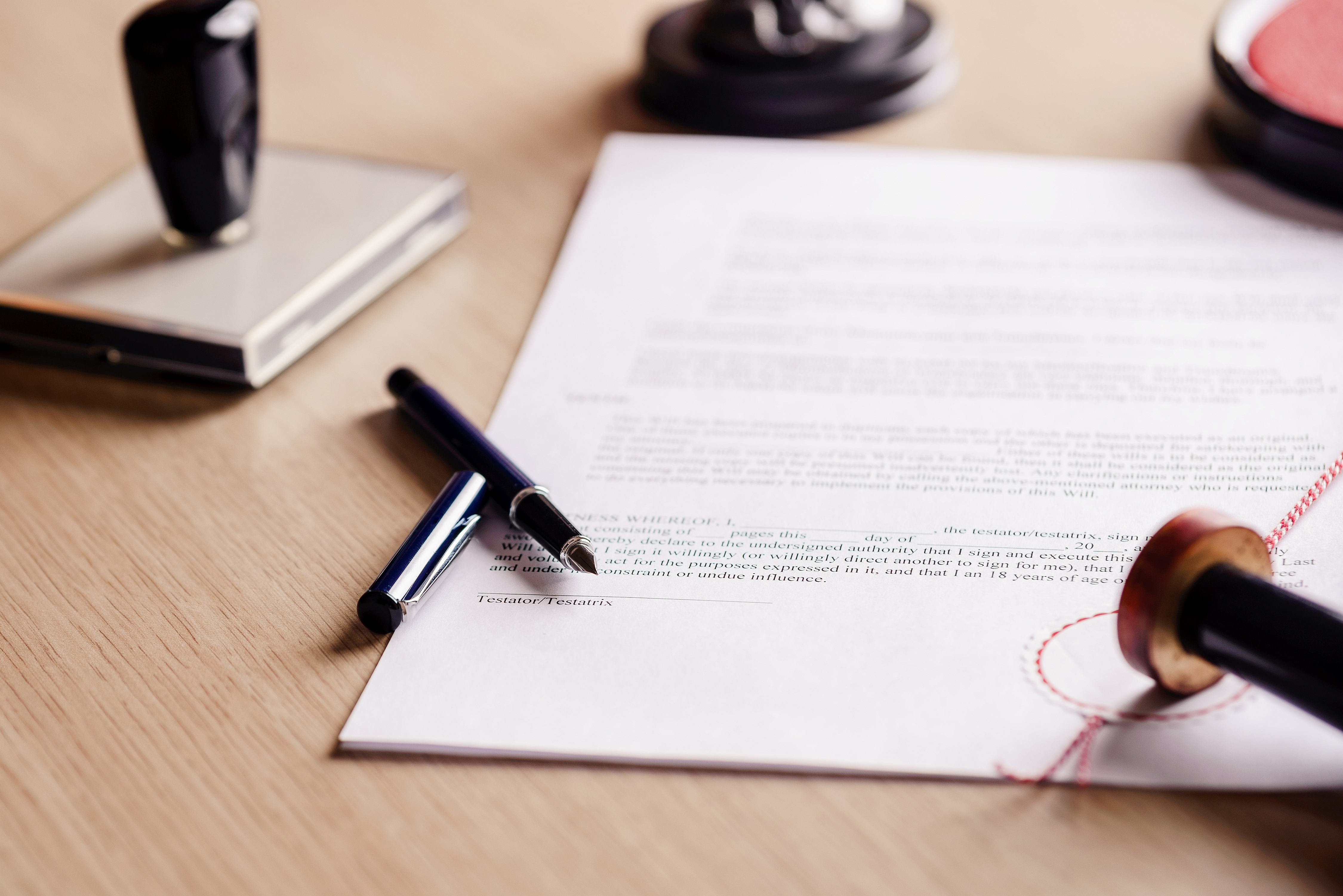 How to Write a Legal Statement   Bizfluent