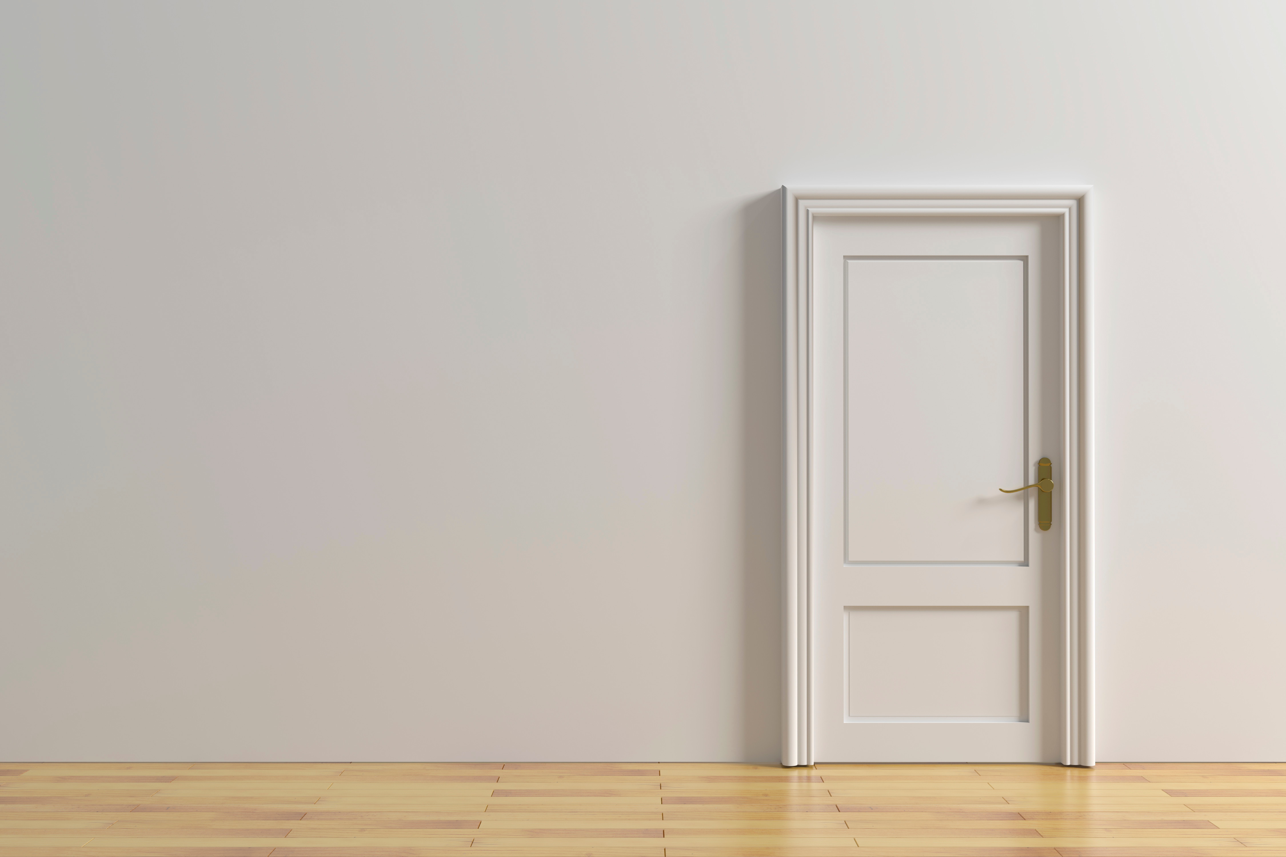 Should Interior Doors Be Painted the Same Color as the Walls? | Home ...