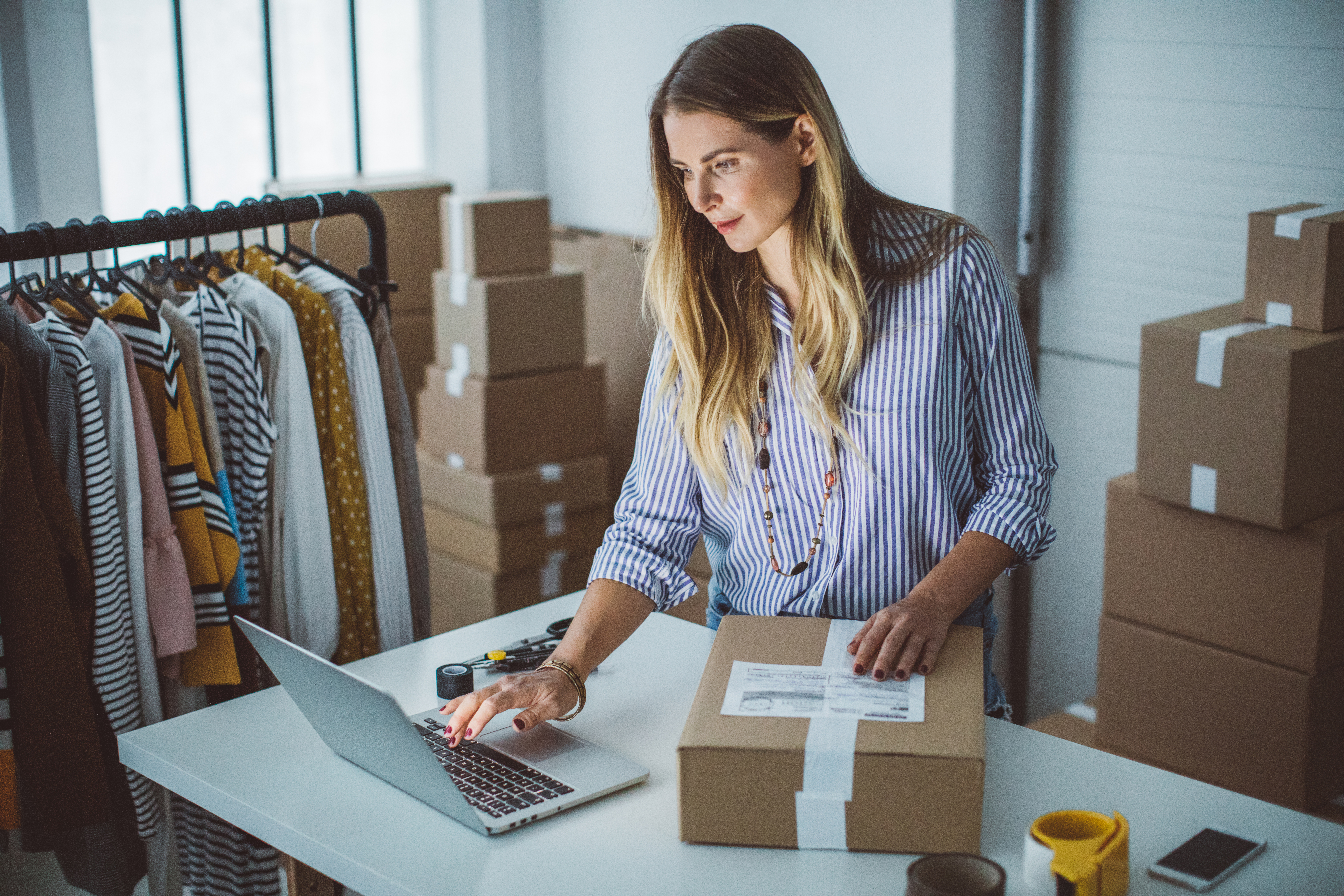How to Start a Wholesale Clothing Business | Bizfluent