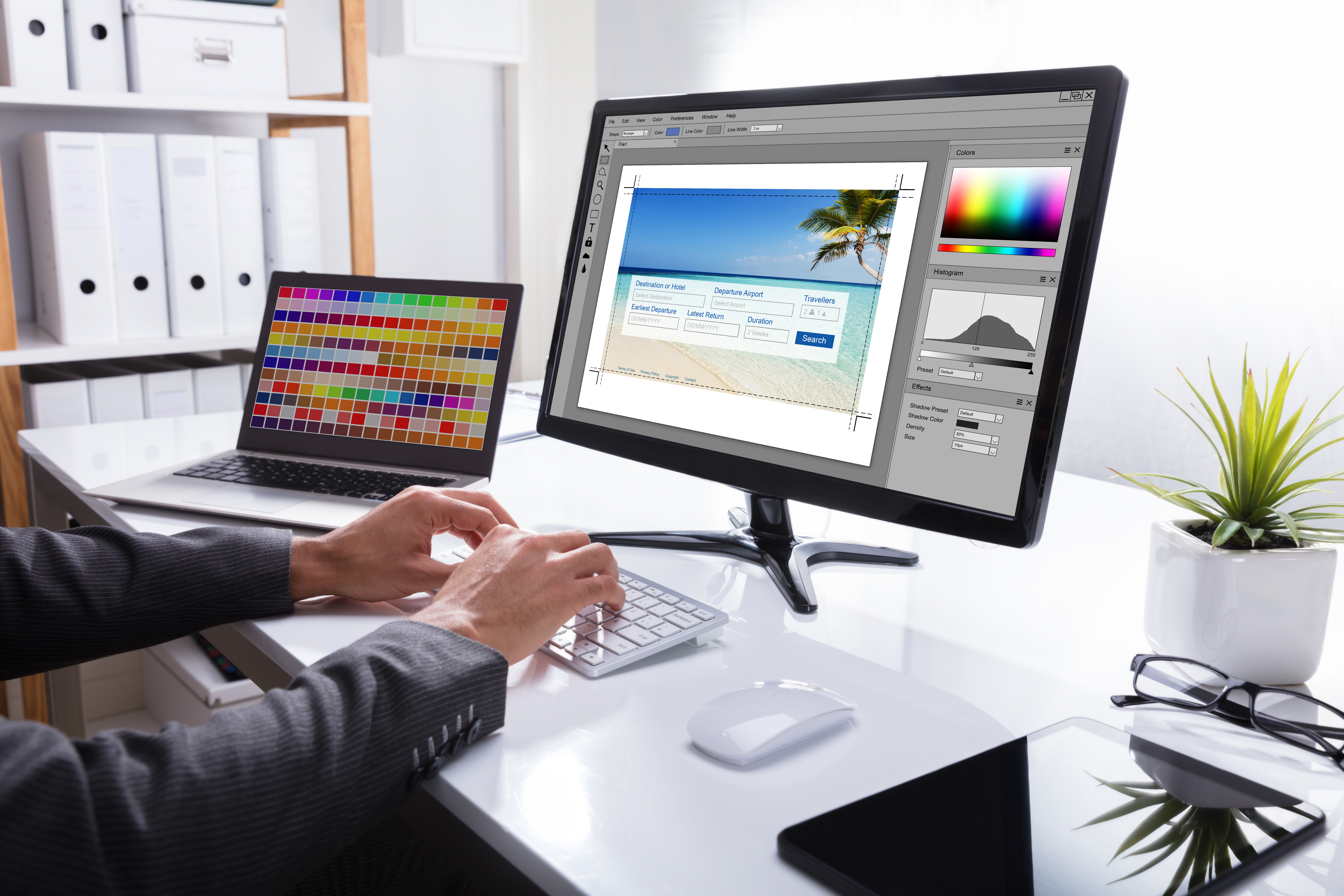 How to Scale Without Distortion in Photoshop | Chron com
