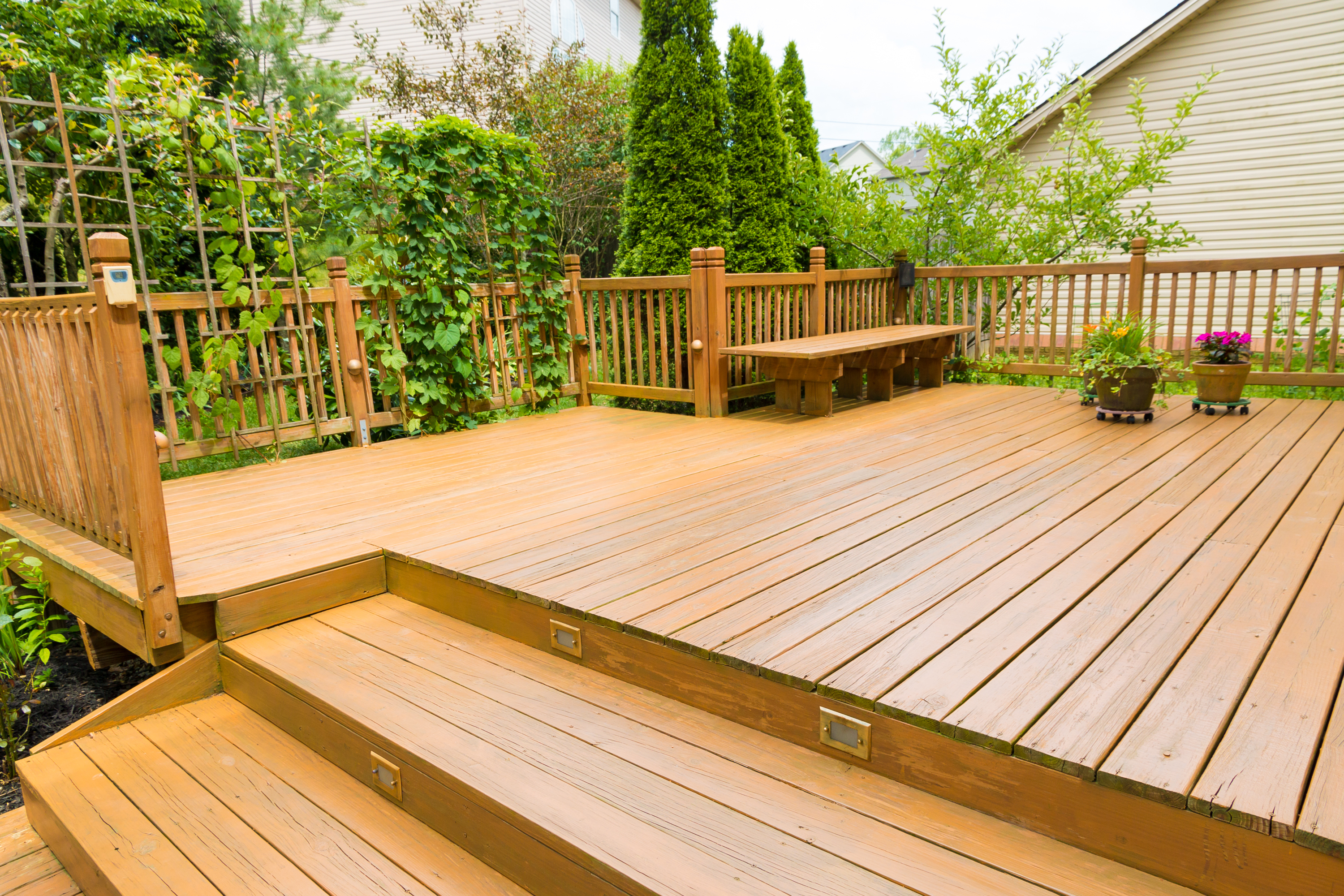 The Average Cost for a 2nd Story Deck | Home Guides | SF Gate on 14x16 deck plans, 12x25 deck plans, 20x24 deck plans, 15x15 deck plans, 12x14 deck plans, 12x40 deck plans, 16x32 deck plans, 18x24 deck plans, 12x26 deck plans, 10x24 deck plans, 16x26 deck plans, 14x14 deck plans, 20x26 deck plans, 12x32 deck plans, 15x20 deck plans, 6x8 deck plans, 14x28 deck plans, 12x13 deck plans, 11x14 deck plans, 18x18 deck plans,