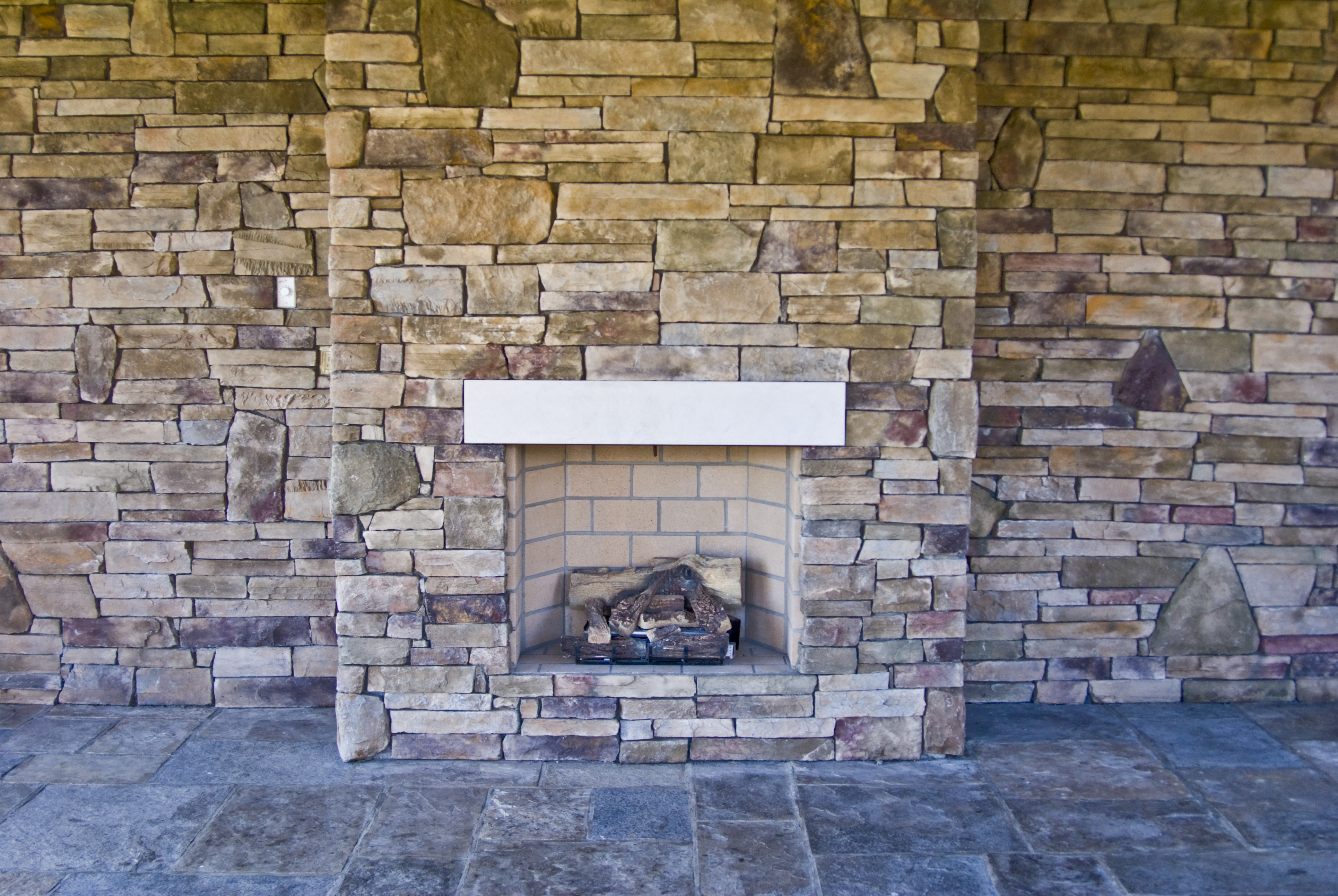 how to clean a stained slate hearth home guides sf gate rh homeguides sfgate com how to clean paint off slate fireplace how to wash slate fireplace hearth