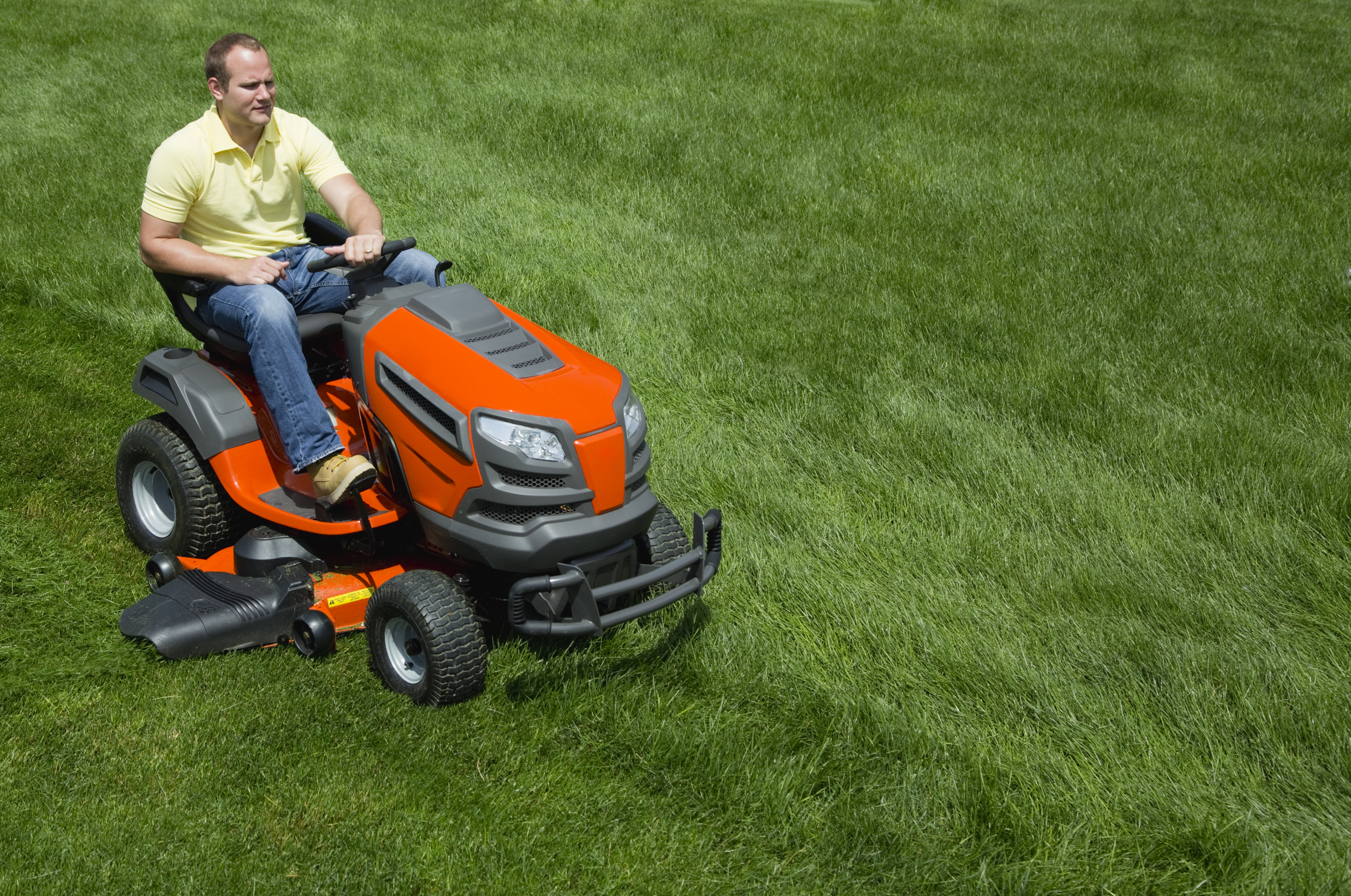 Are There Different Types of Riding Mower Batteries? | Home Guides