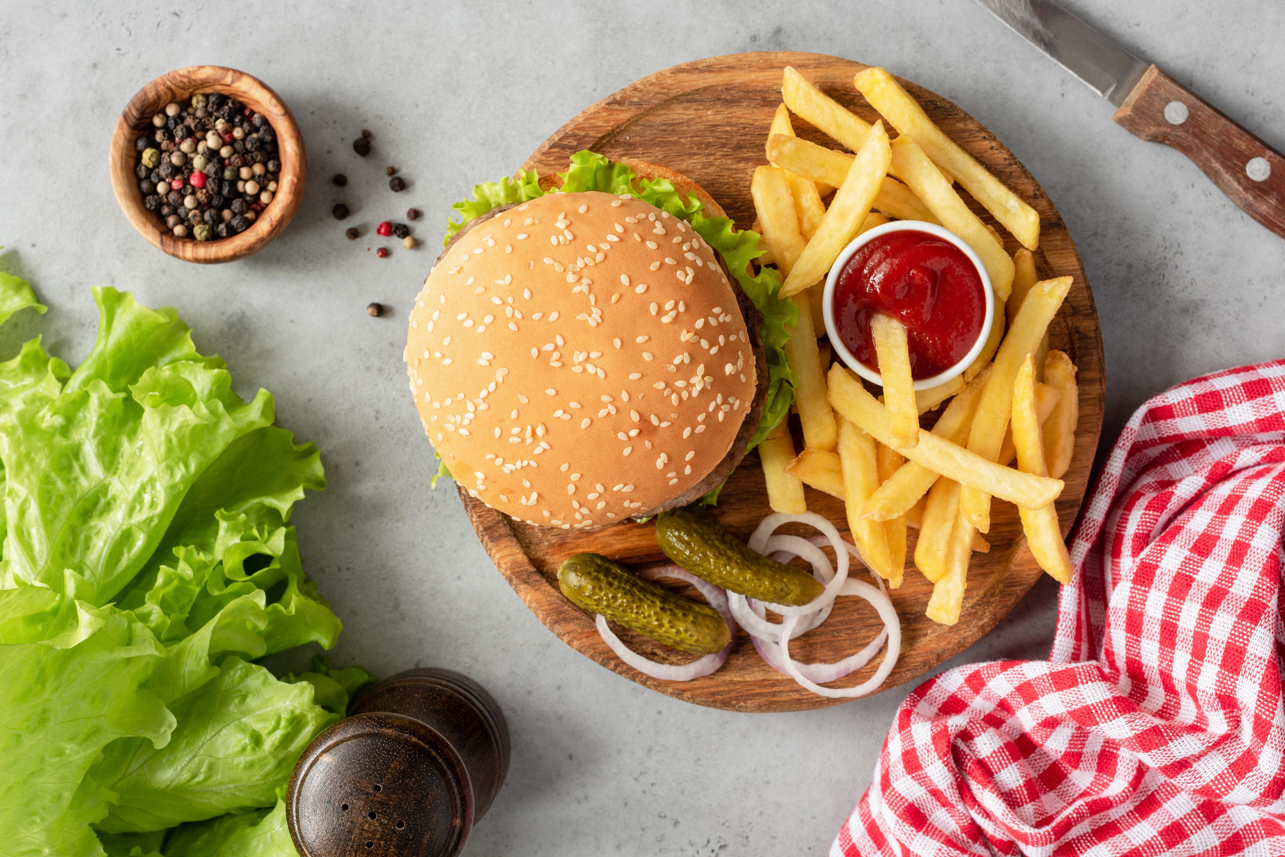 Healthy Food Vs Fast Food Healthy Eating Sf Gate