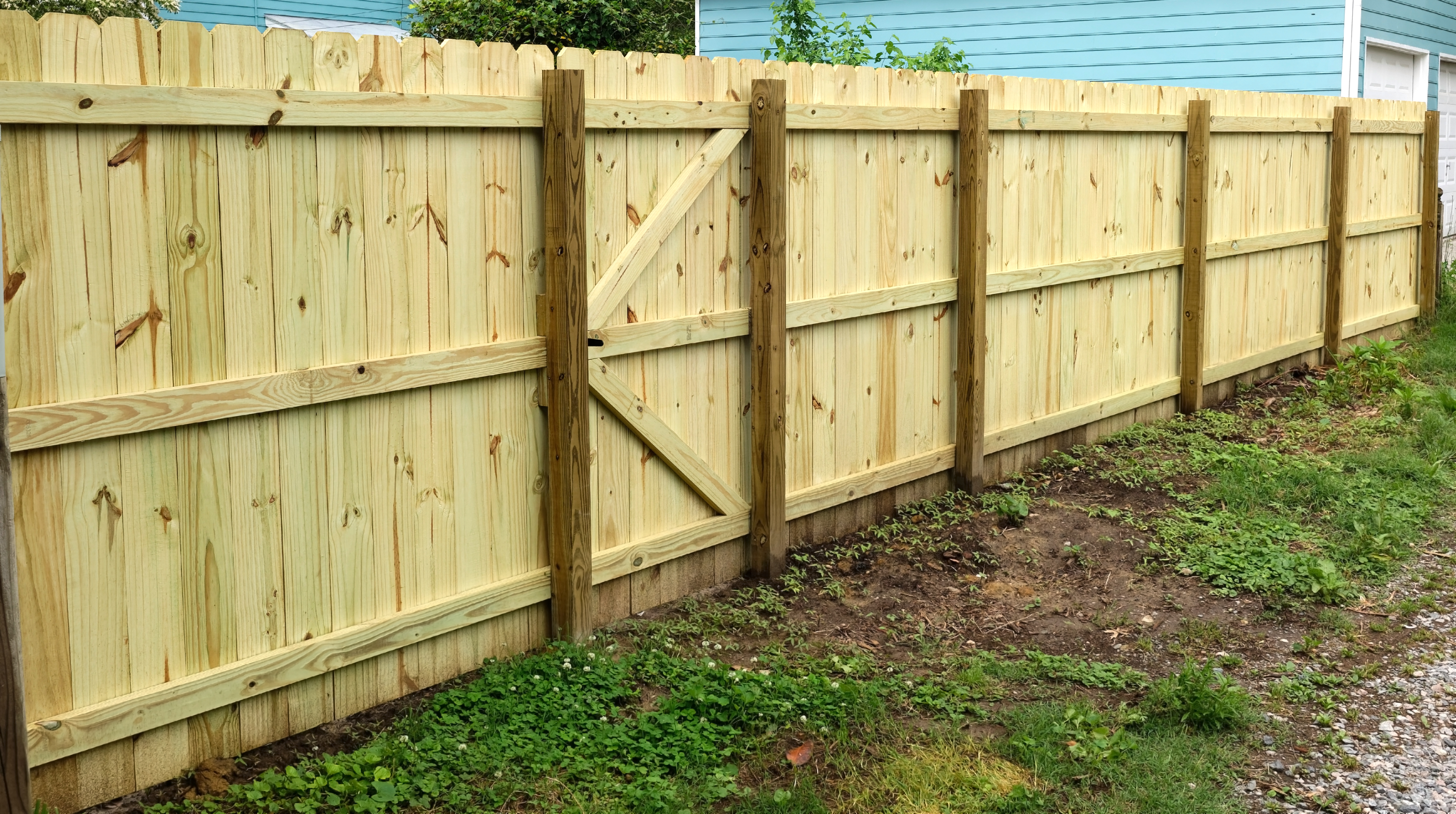 How to Fill in a Gap Under Fencing | Home Guides | SF Gate