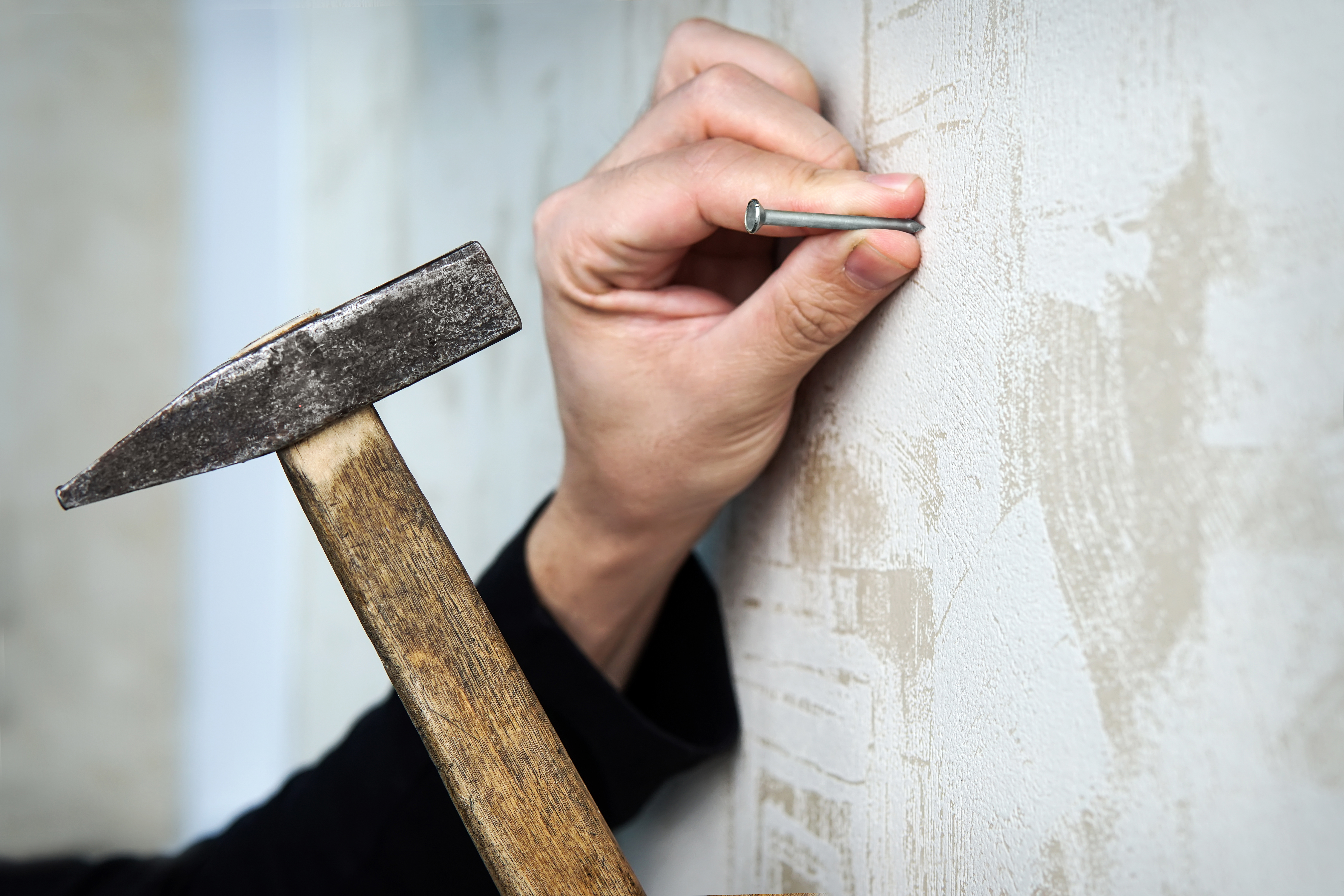 What Size Nails for Framing Walls? | Home Guides | SF Gate Nailing Interior Walls Mobile Home on mobile home hvac, mobile home stairs, mobile home stud walls, mobile home basements, mobile home bathrooms, replace mobile home walls, mobile home curtains, mobile home exterior walls, mobile home windows, framing mobile home walls,