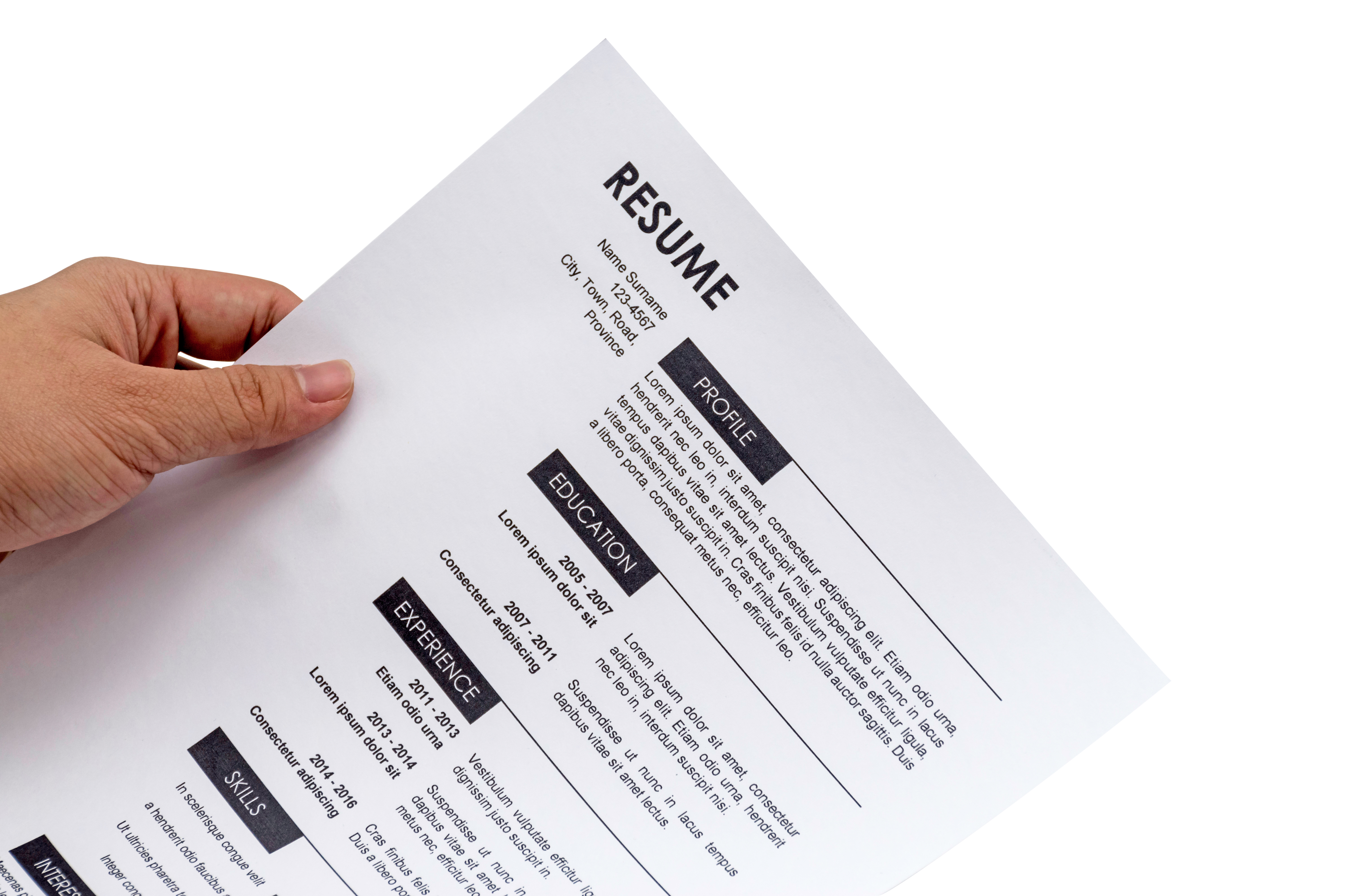 How to List a Merged Company on a Resume | Bizfluent