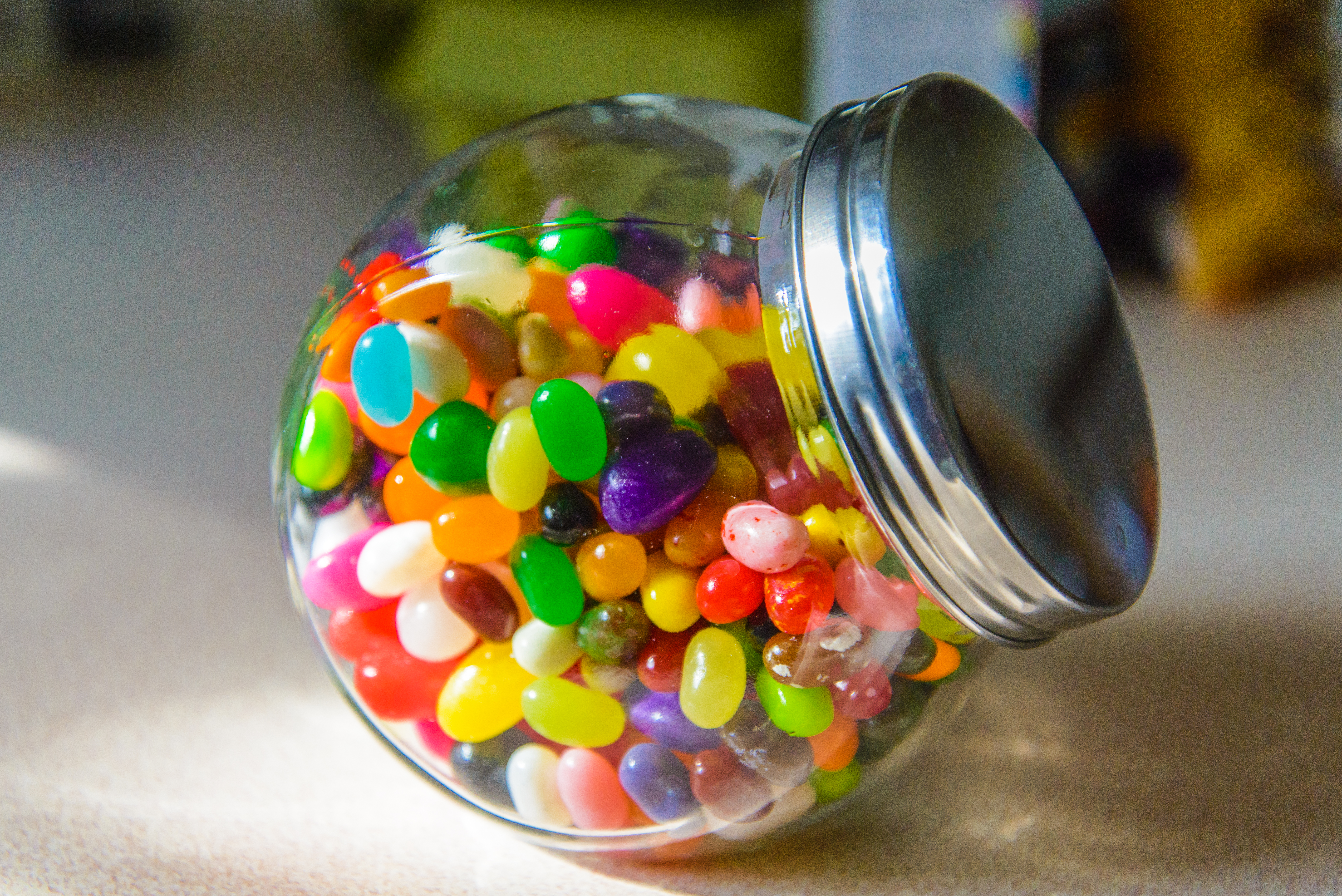 How To Count Jelly Beans In A Jar Sciencing