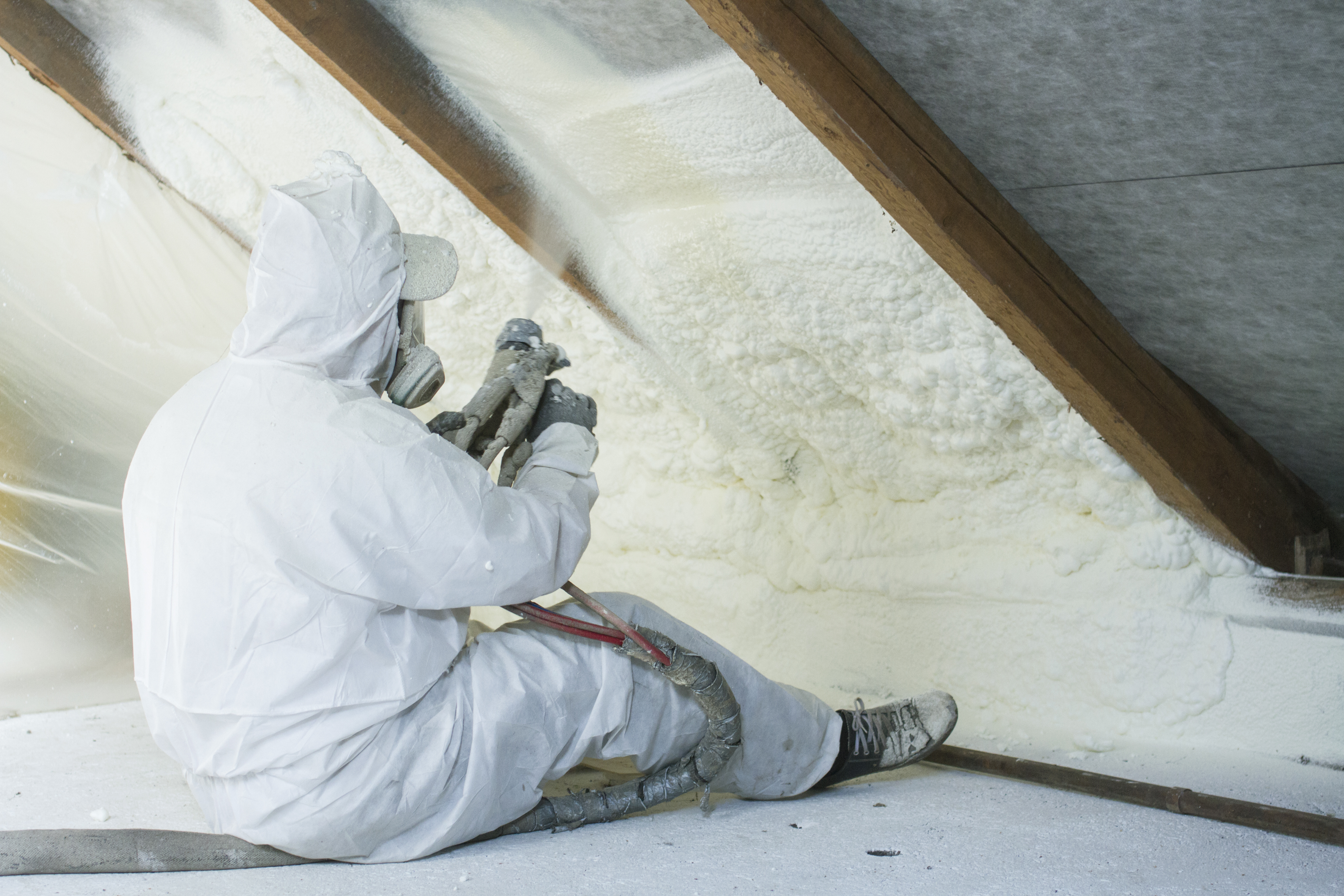 How to Remove Sprayed Wall Foam Insulation | Home Guides