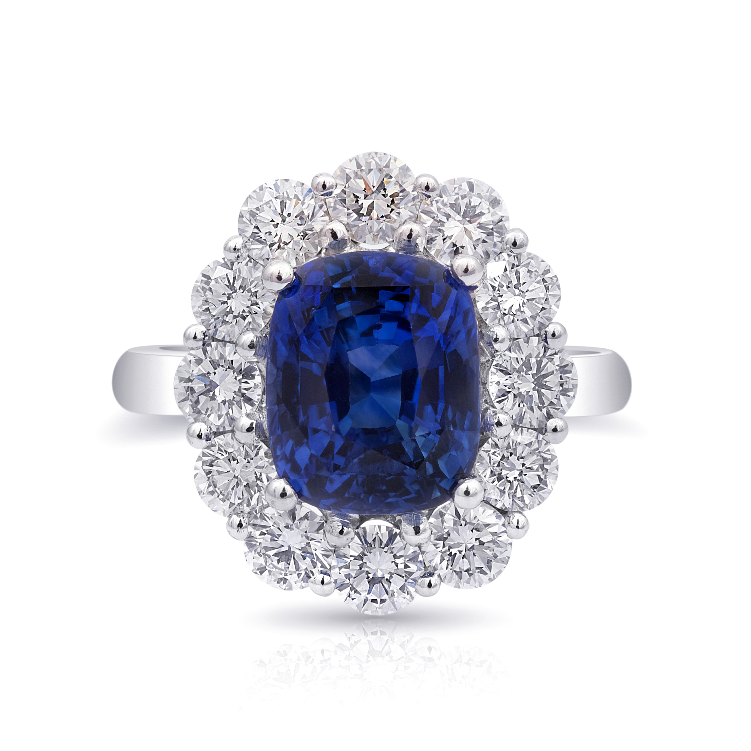 certified untreated rings blue sapphire ct natural more gia neelam archive platinum ring views