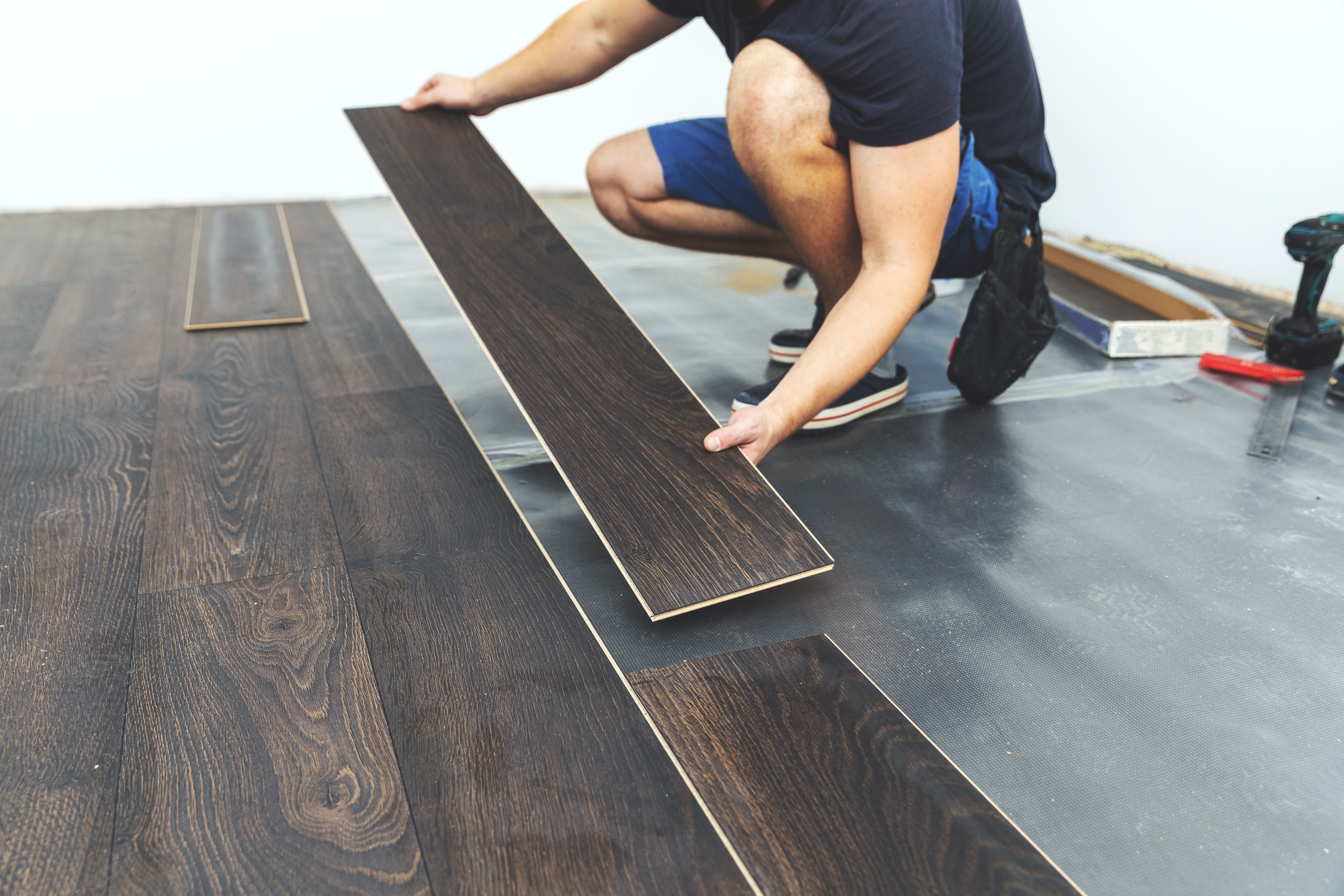 How To Stagger Wood Floor Planks Hunker