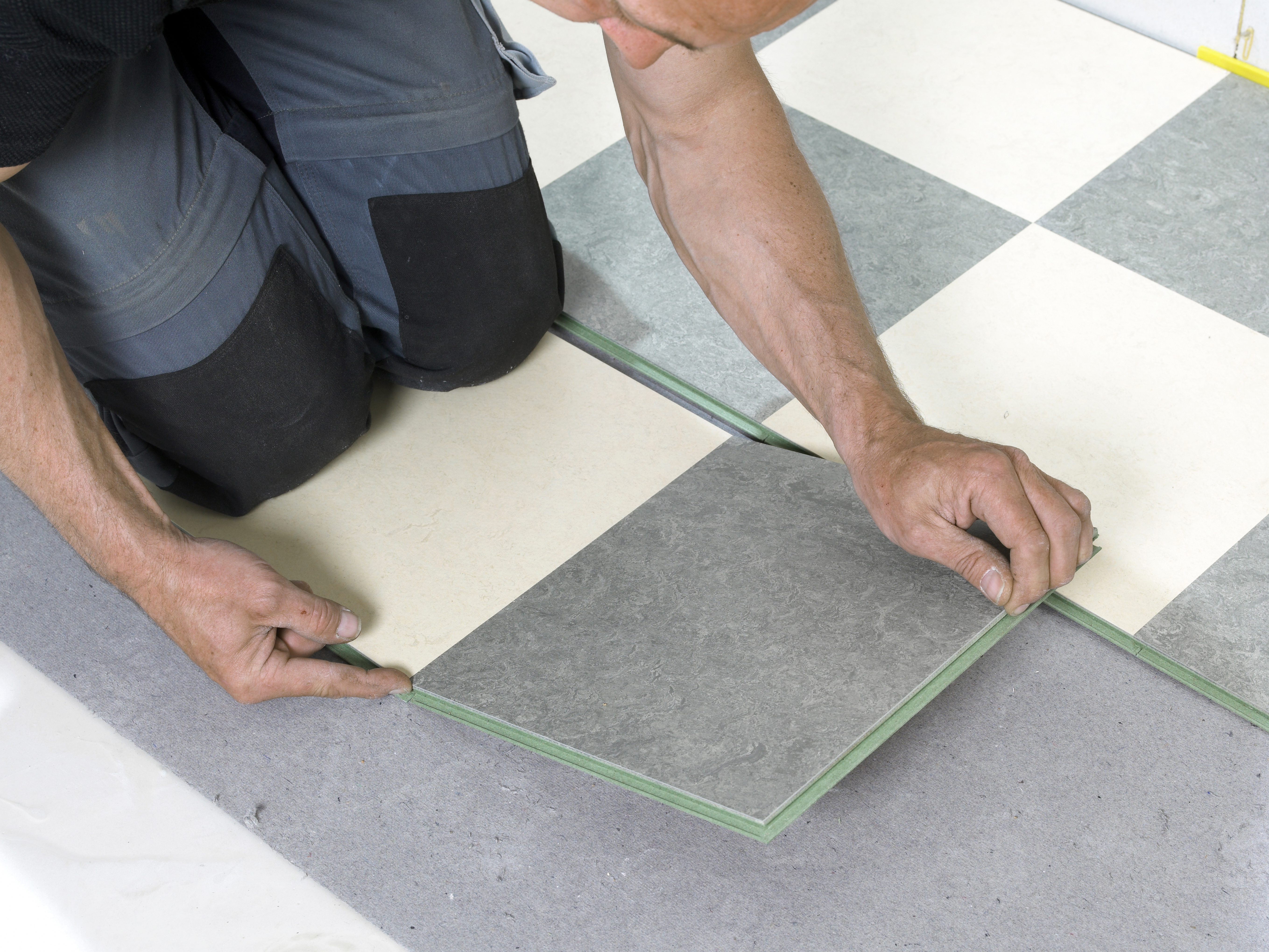 Laying Linoleum Without Adhesive Glue Home Guides Sf Gate