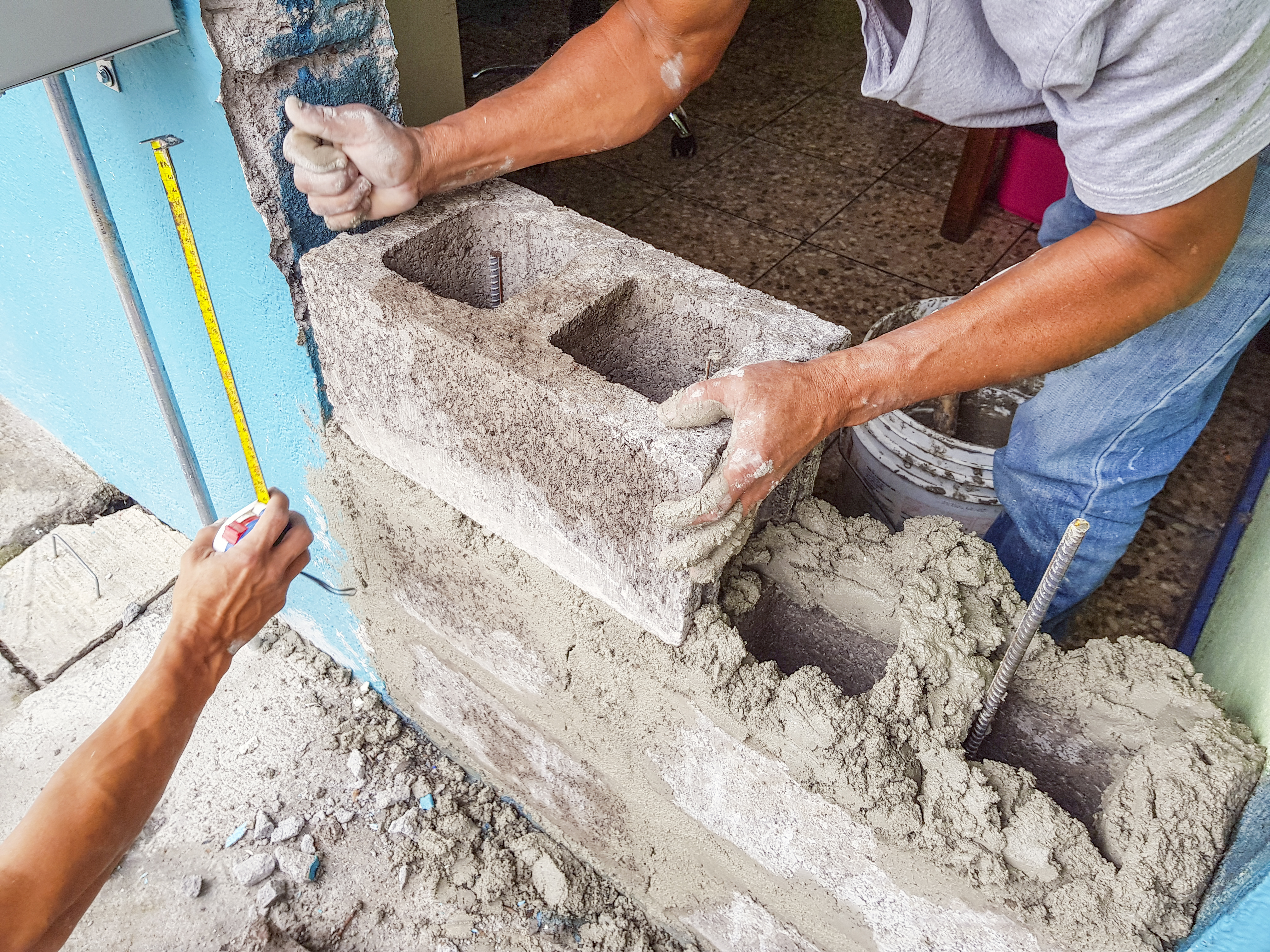 How to Fill Holes in a Cinder Block Wall | Home Guides | SF Gate
