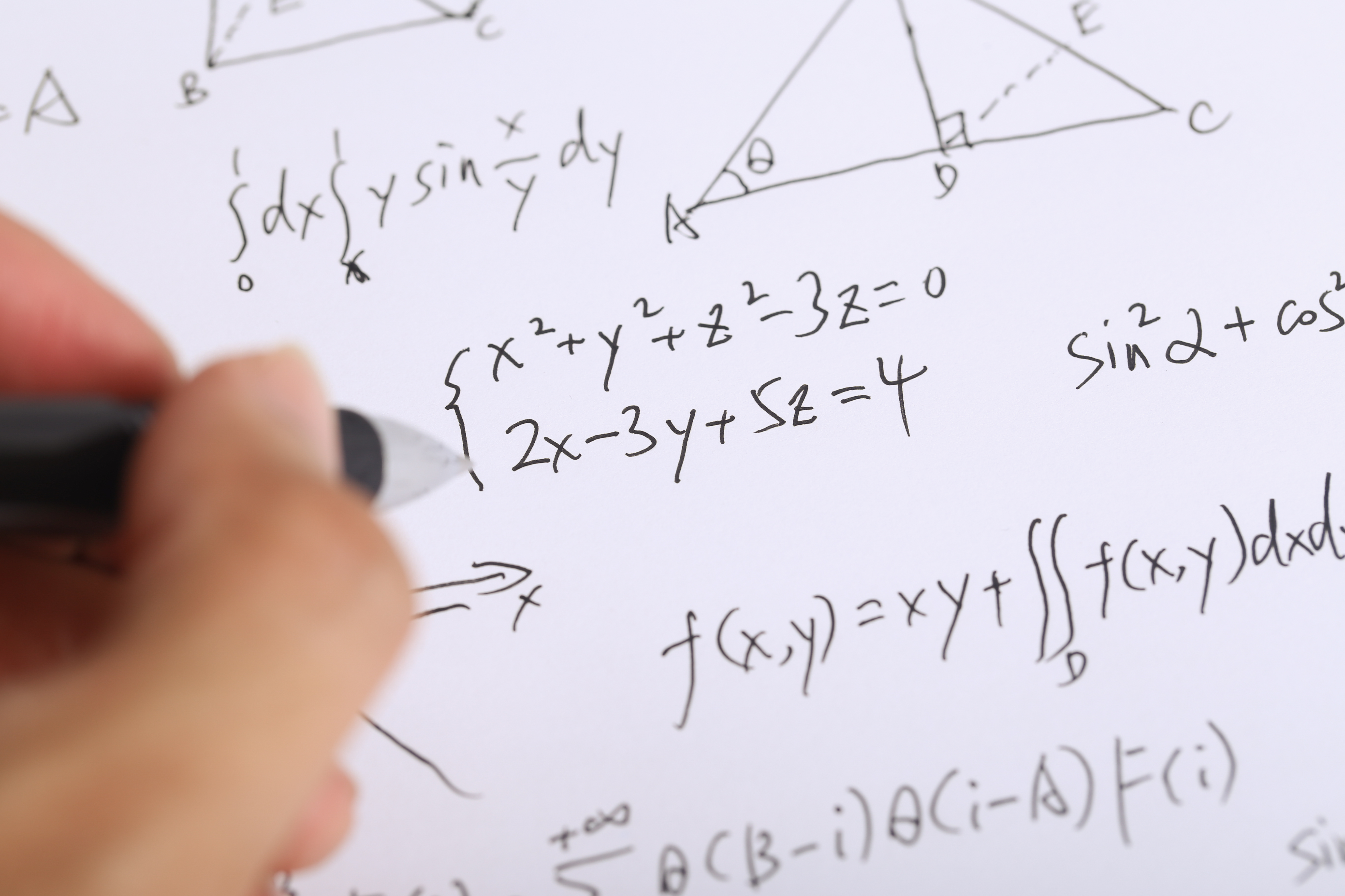 How to Pass a Finite Math Course