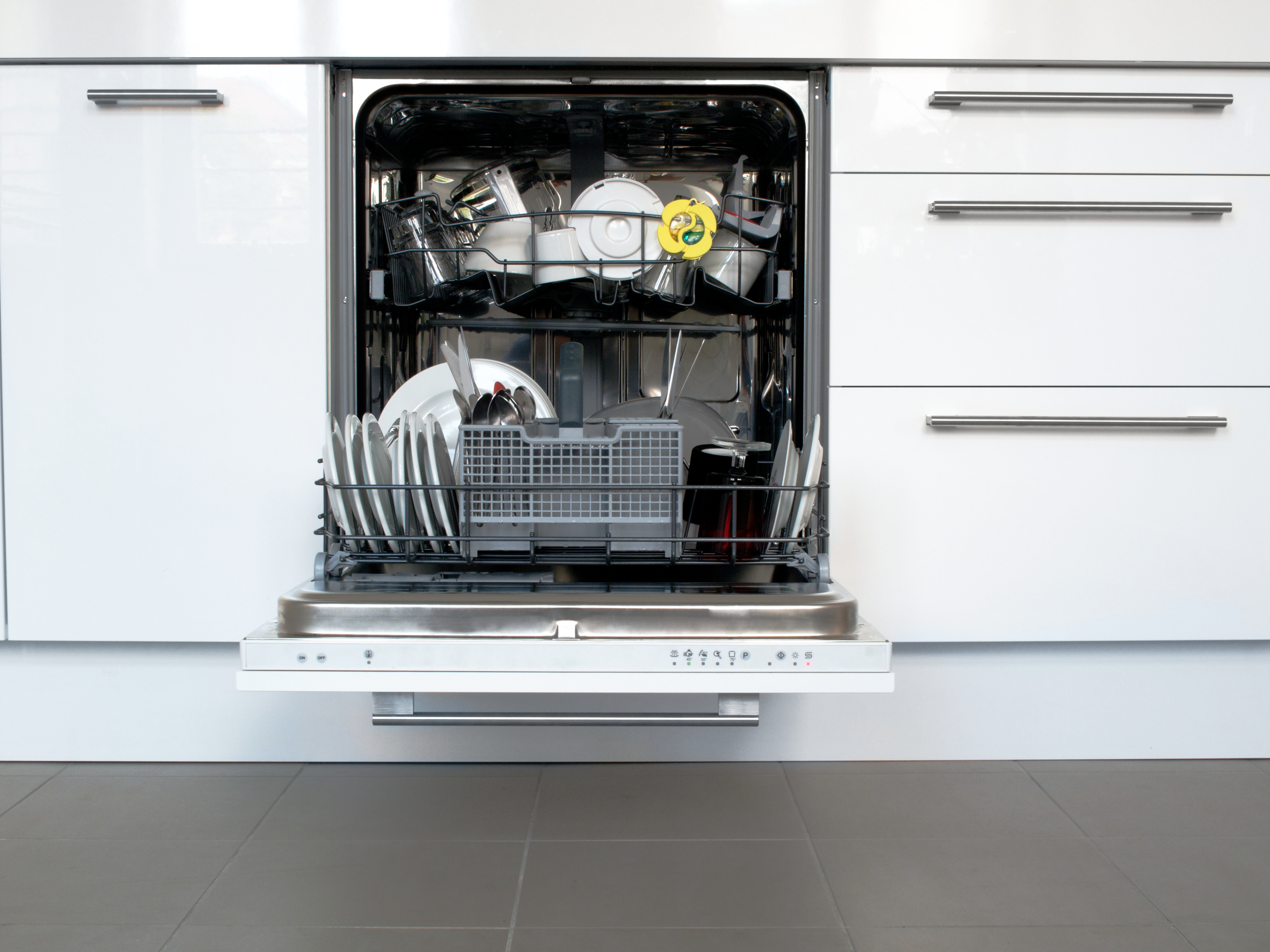 is it bad to put a dishwasher without top