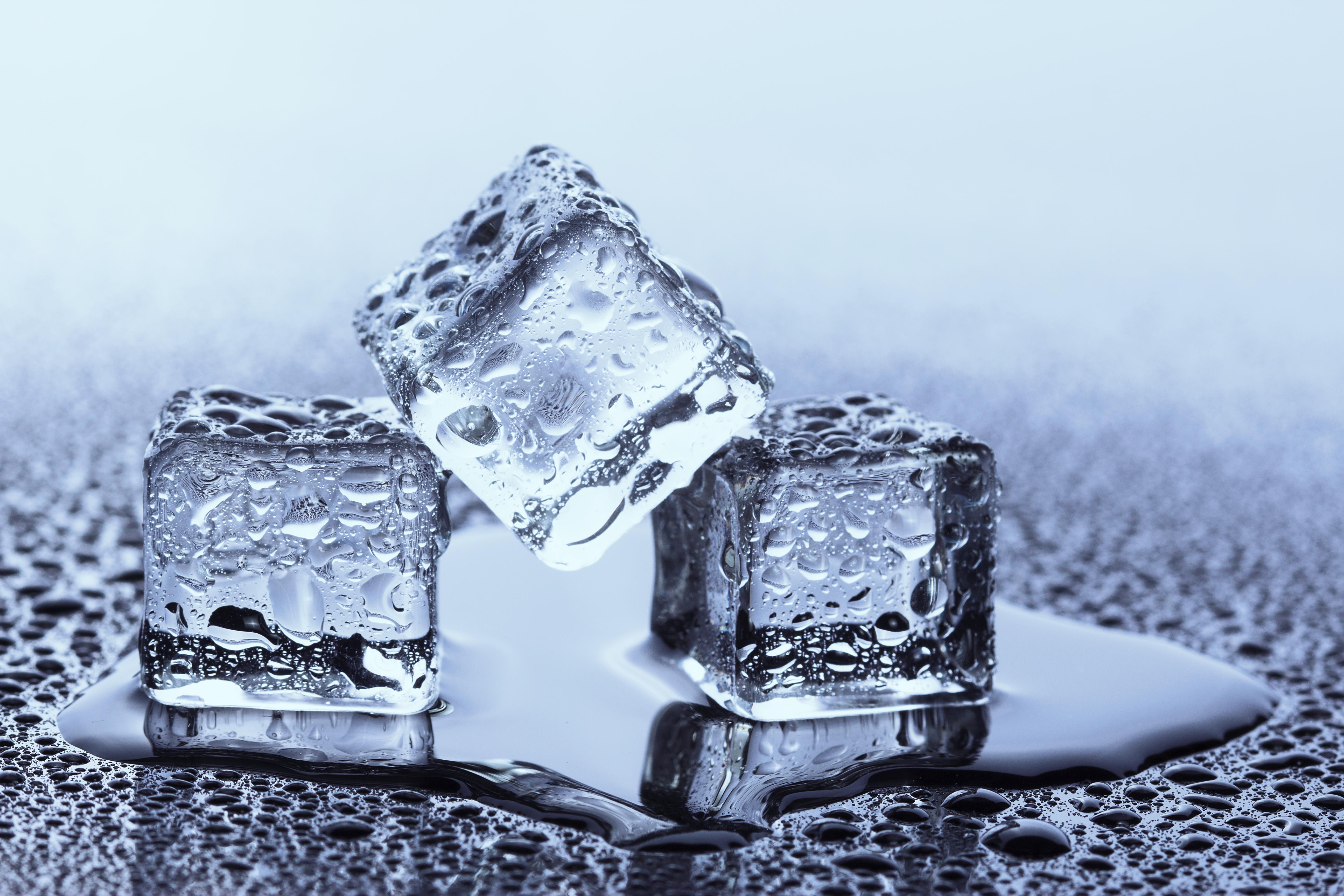 Ice Cubes Melting Process