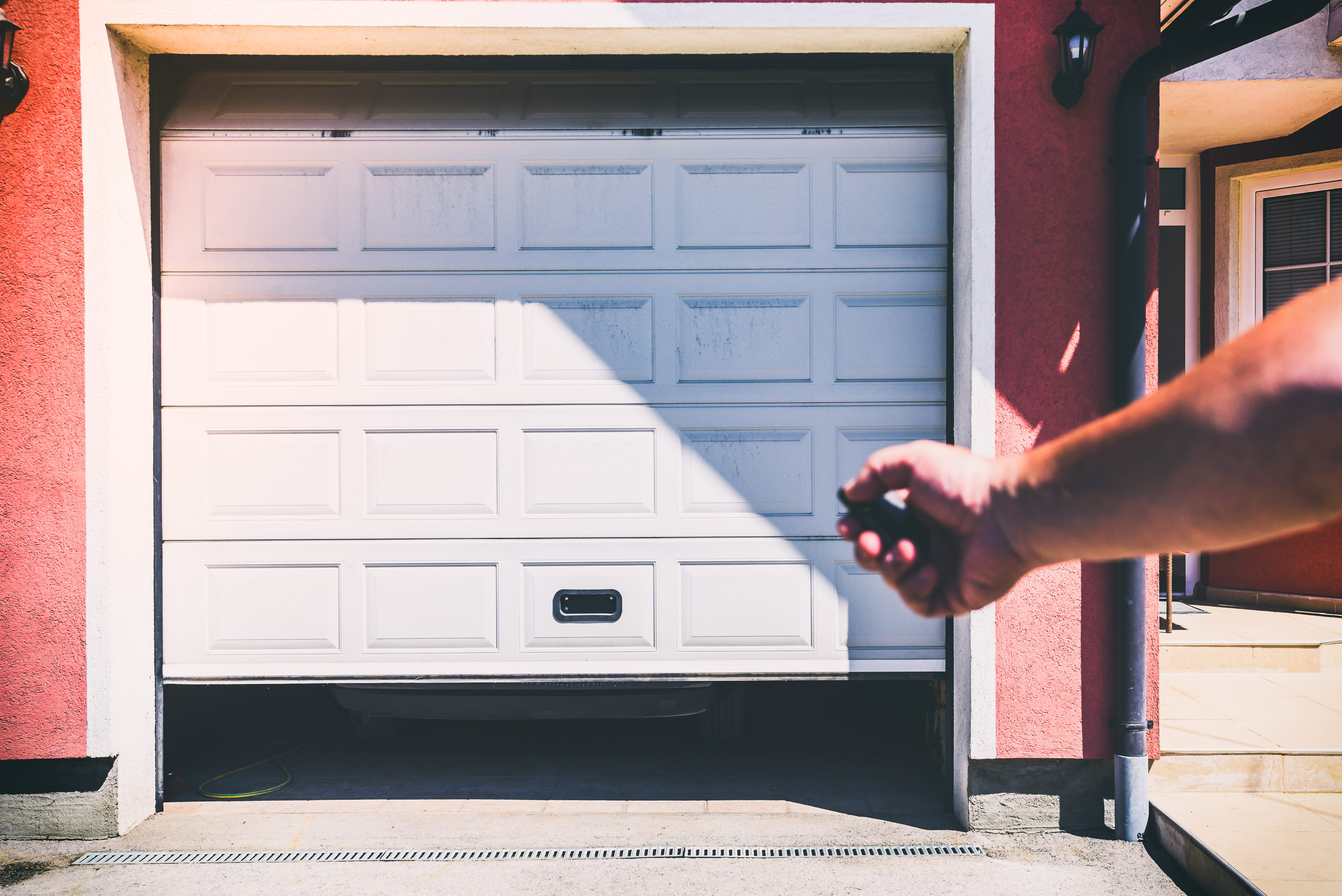How To Adjust A Photo Eye On Garage Door Home Guides Sf Gate Safety Sensor Wire Further Opener Wiring