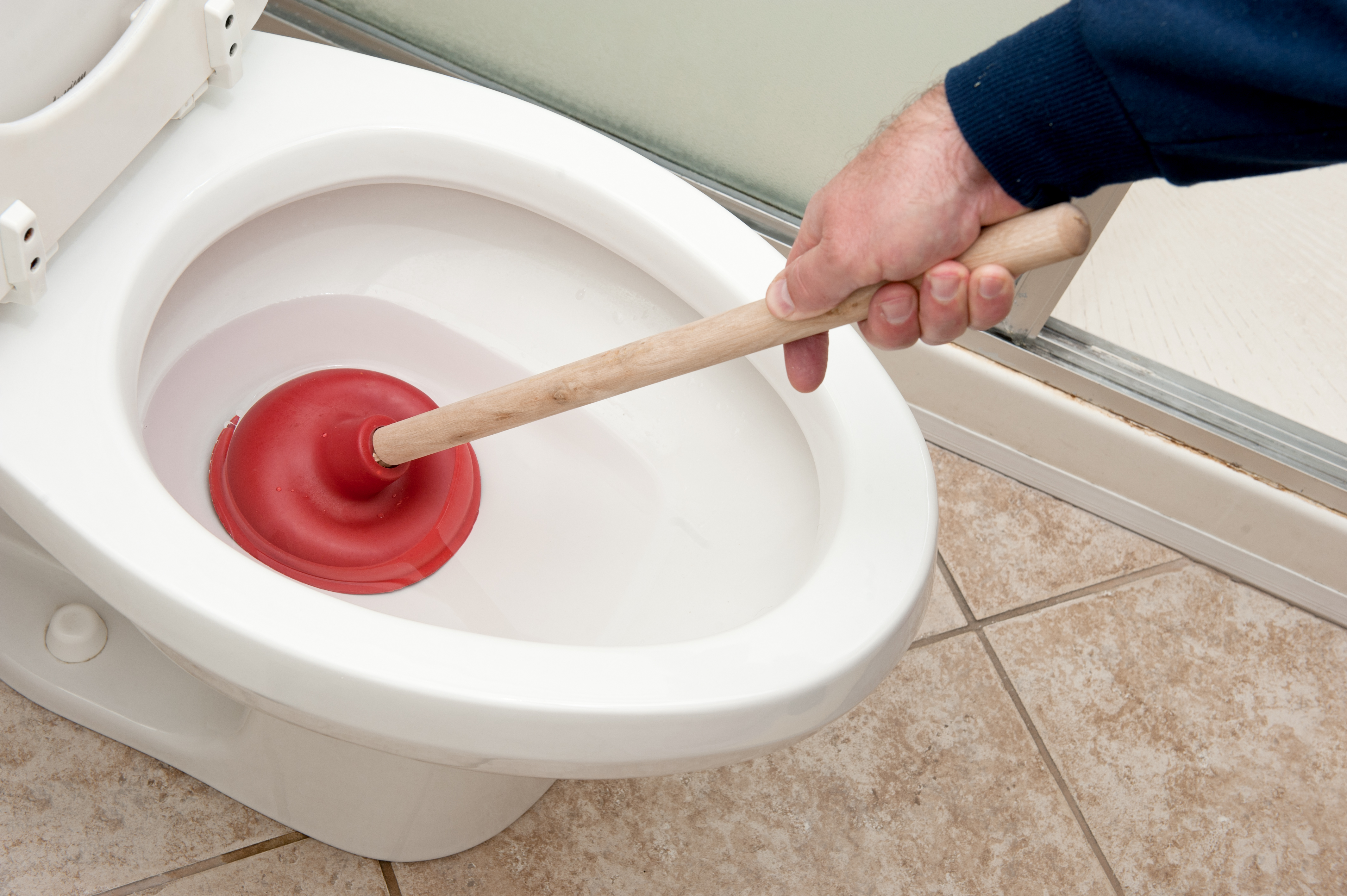 How To Unclog A Toilet Without A Plunger Or Snake Home Guides Sf