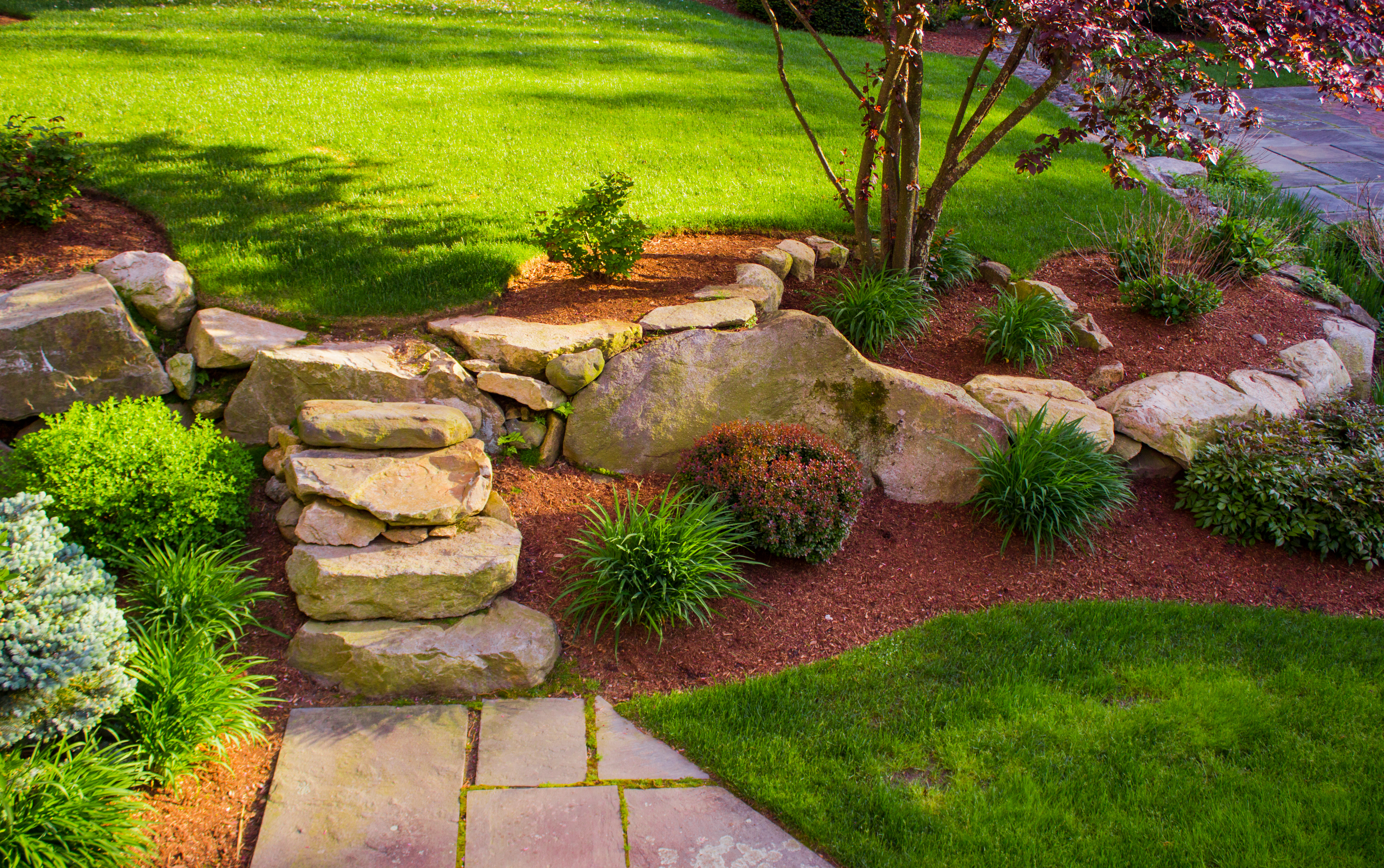 Pros Cons Of Landscaping Ground Cover Rocks Home Guides Sf Gate