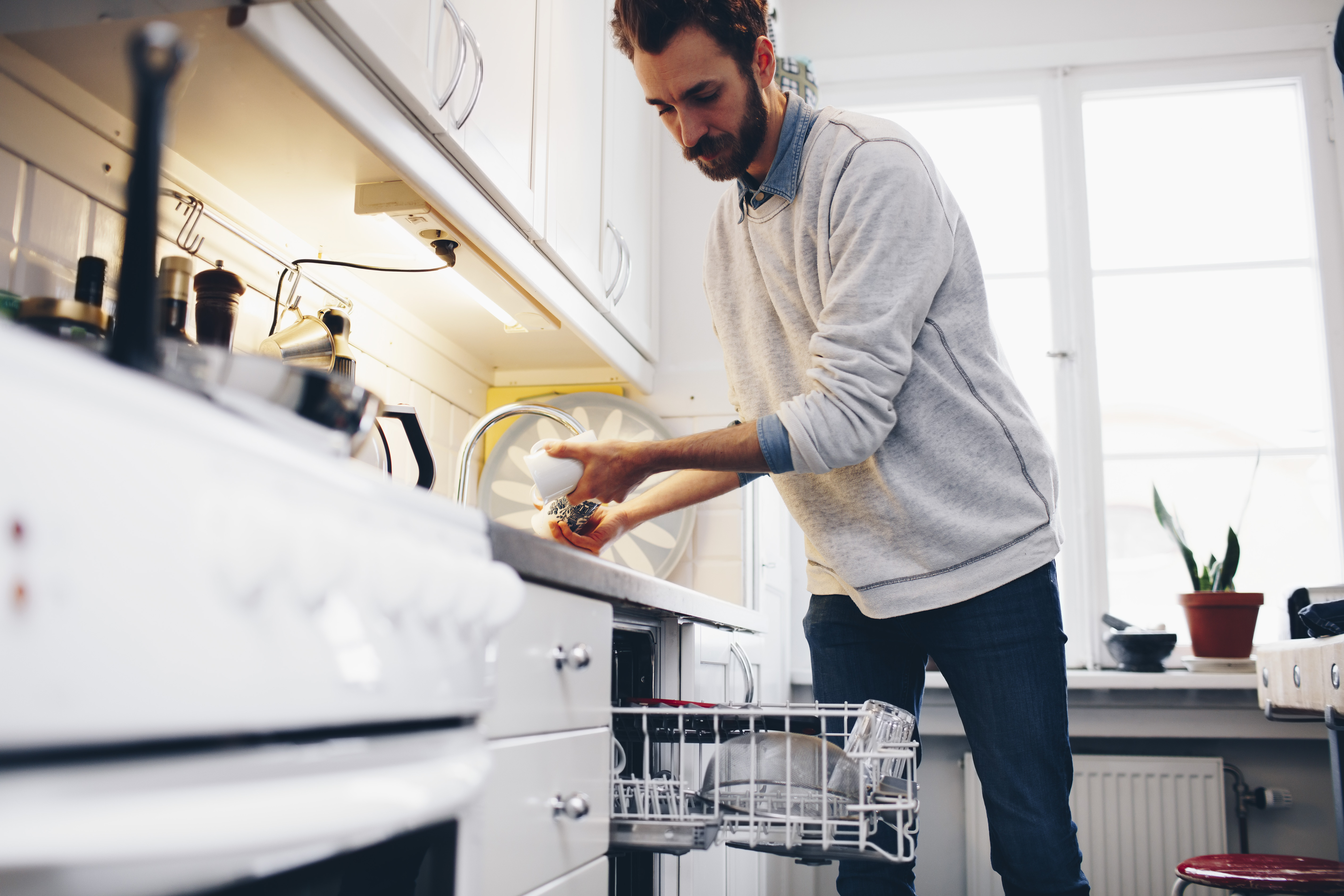 How to Fix Sitting Water in Dishwashers | Home Guides | SF Gate