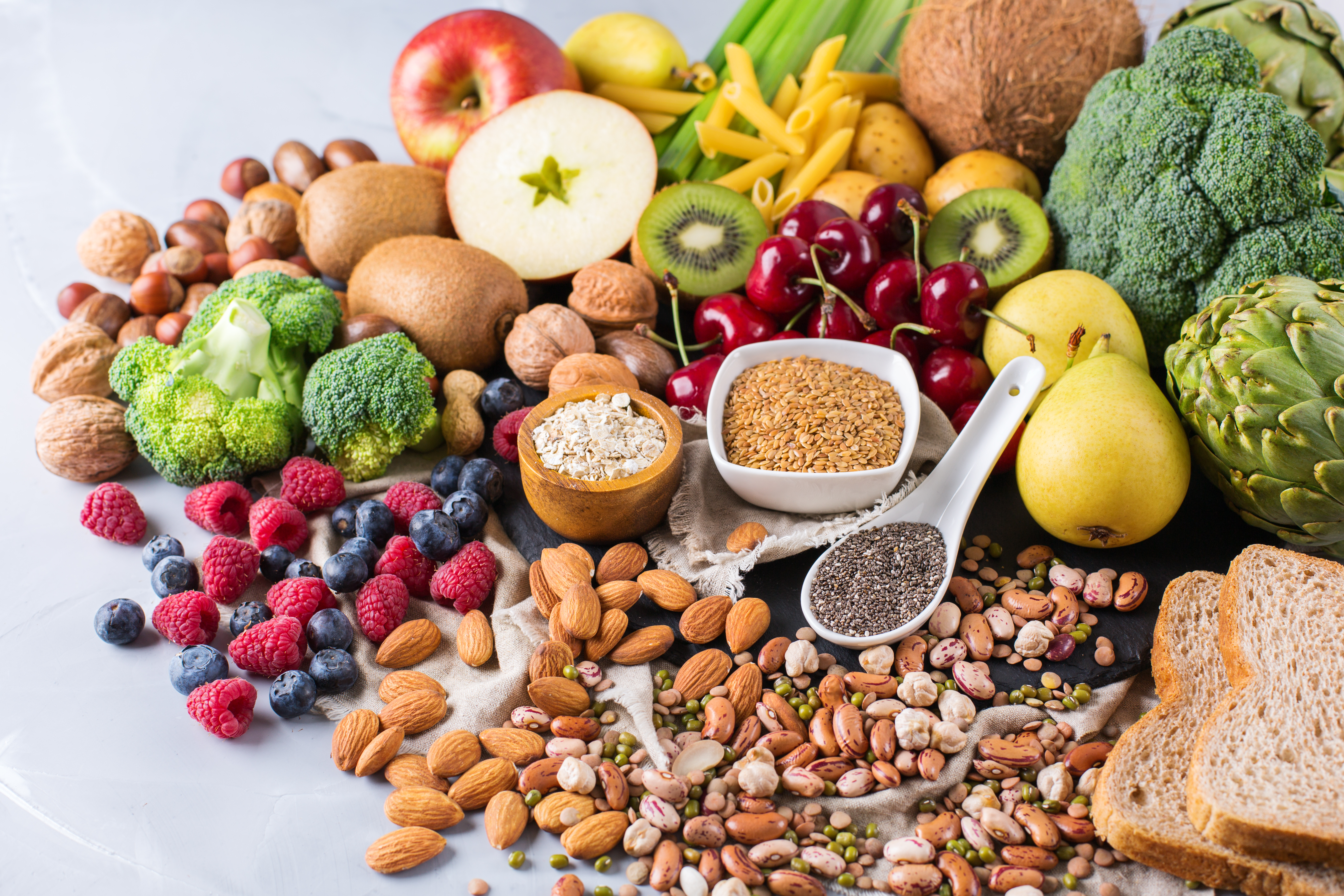 how to add fiber to leachie diet