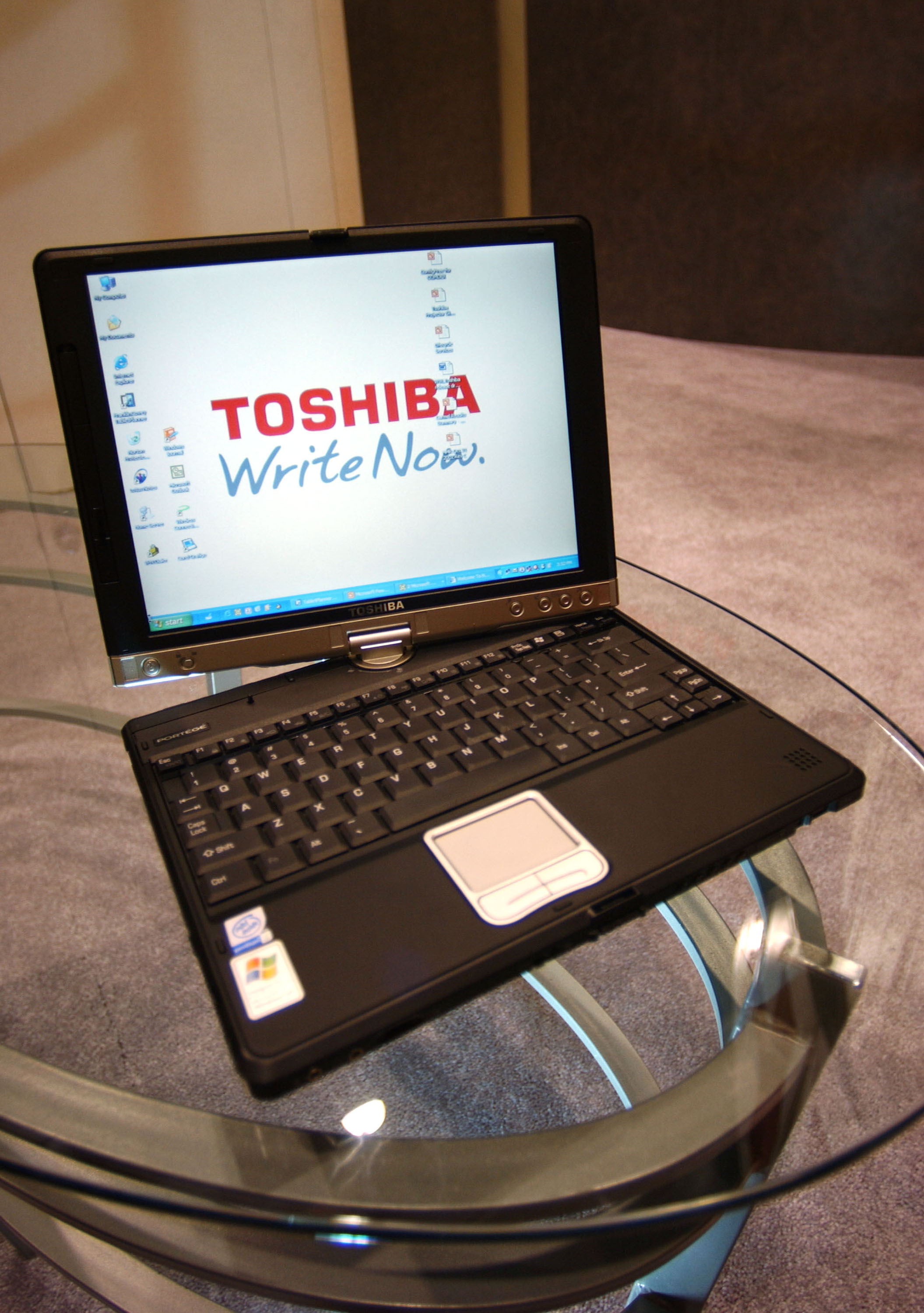 toshiba laptops manuals