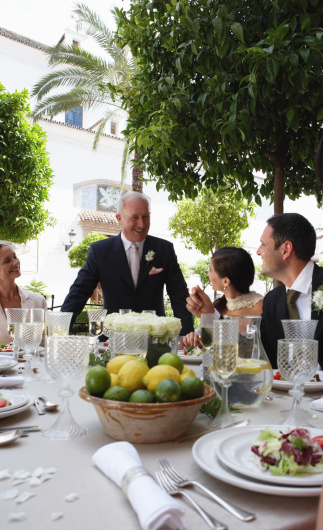 How To Say The Blessing For A Wedding Reception