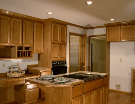 How To Refresh A Stain On Kitchen Cabinets