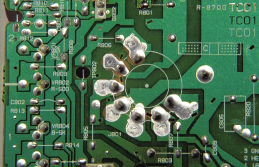 Circuit Board Epoxy Removal | It Still Works