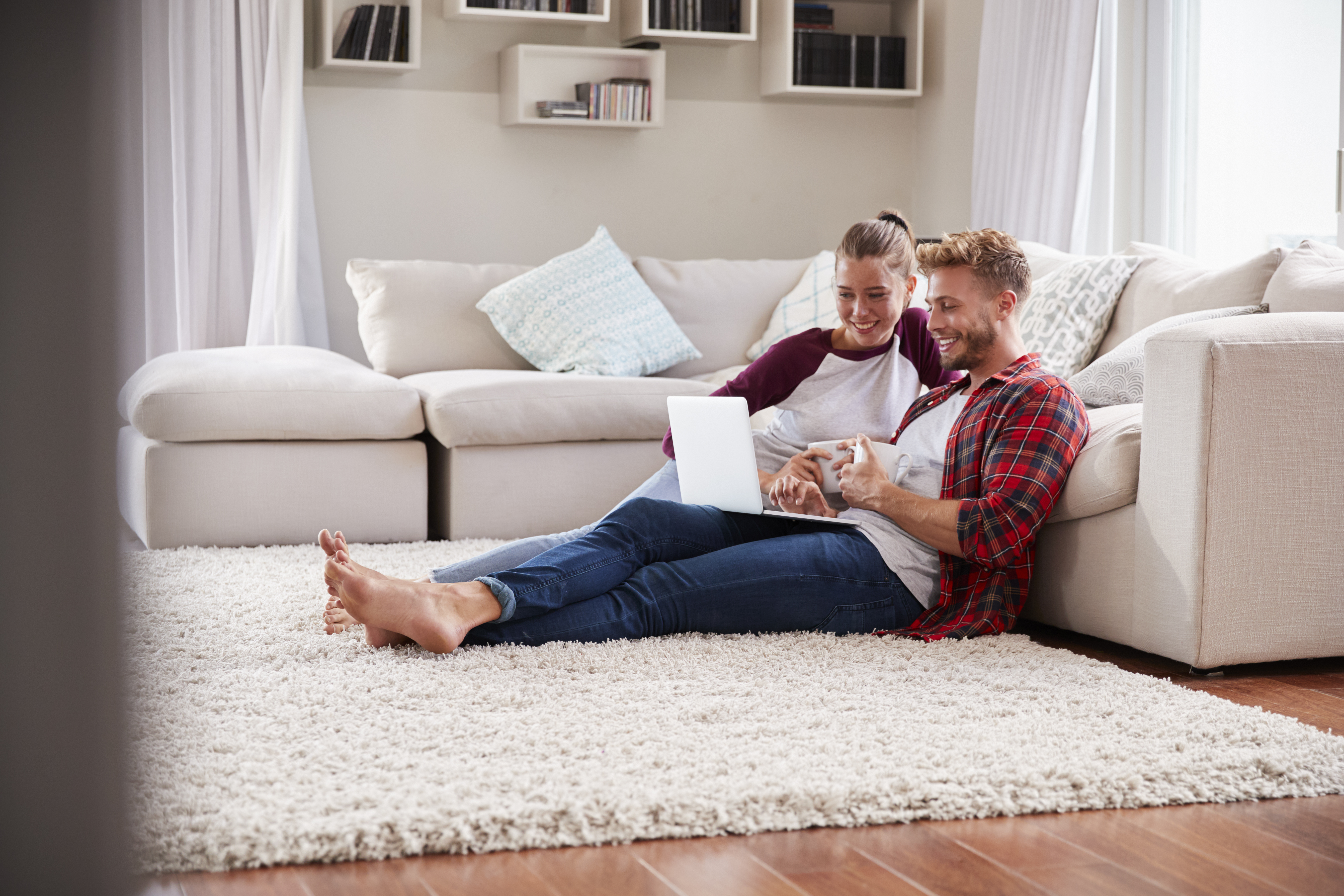How To Stop An Area Rug From Slipping On The Carpet Home