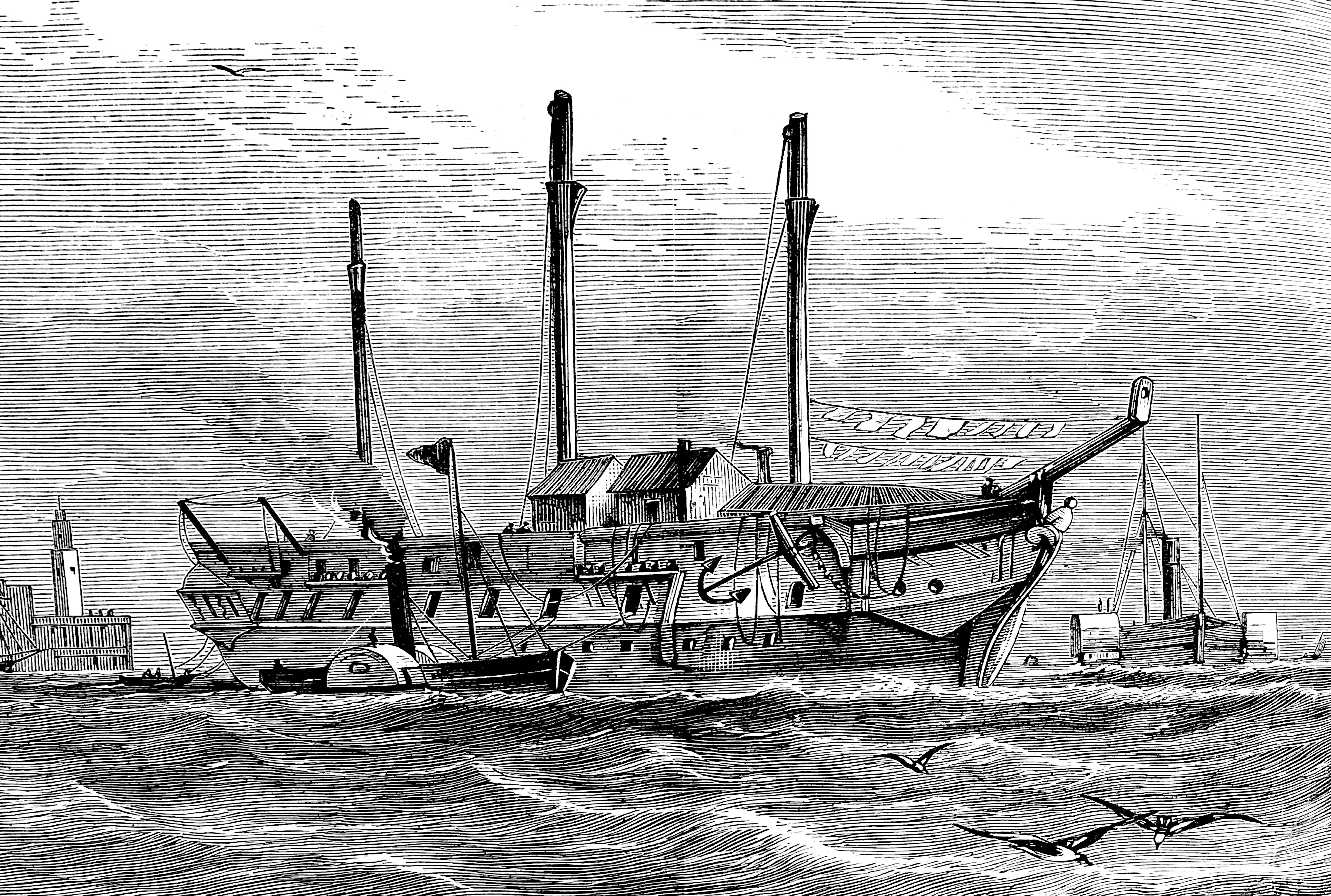 The Effects of Steamboats on the Industrial Revolution