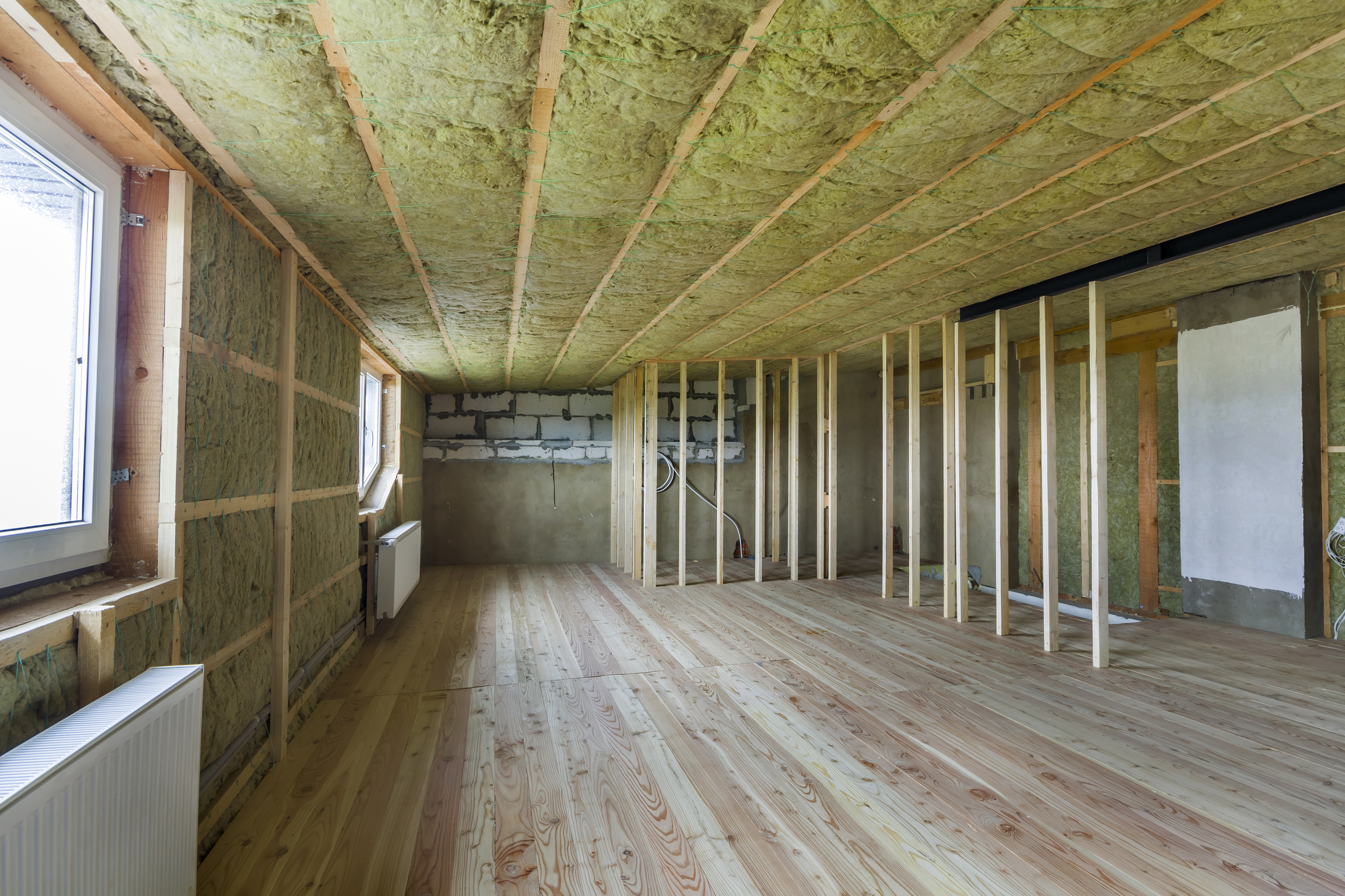 How To Put Insulation In A Ceiling Before Drywall Home