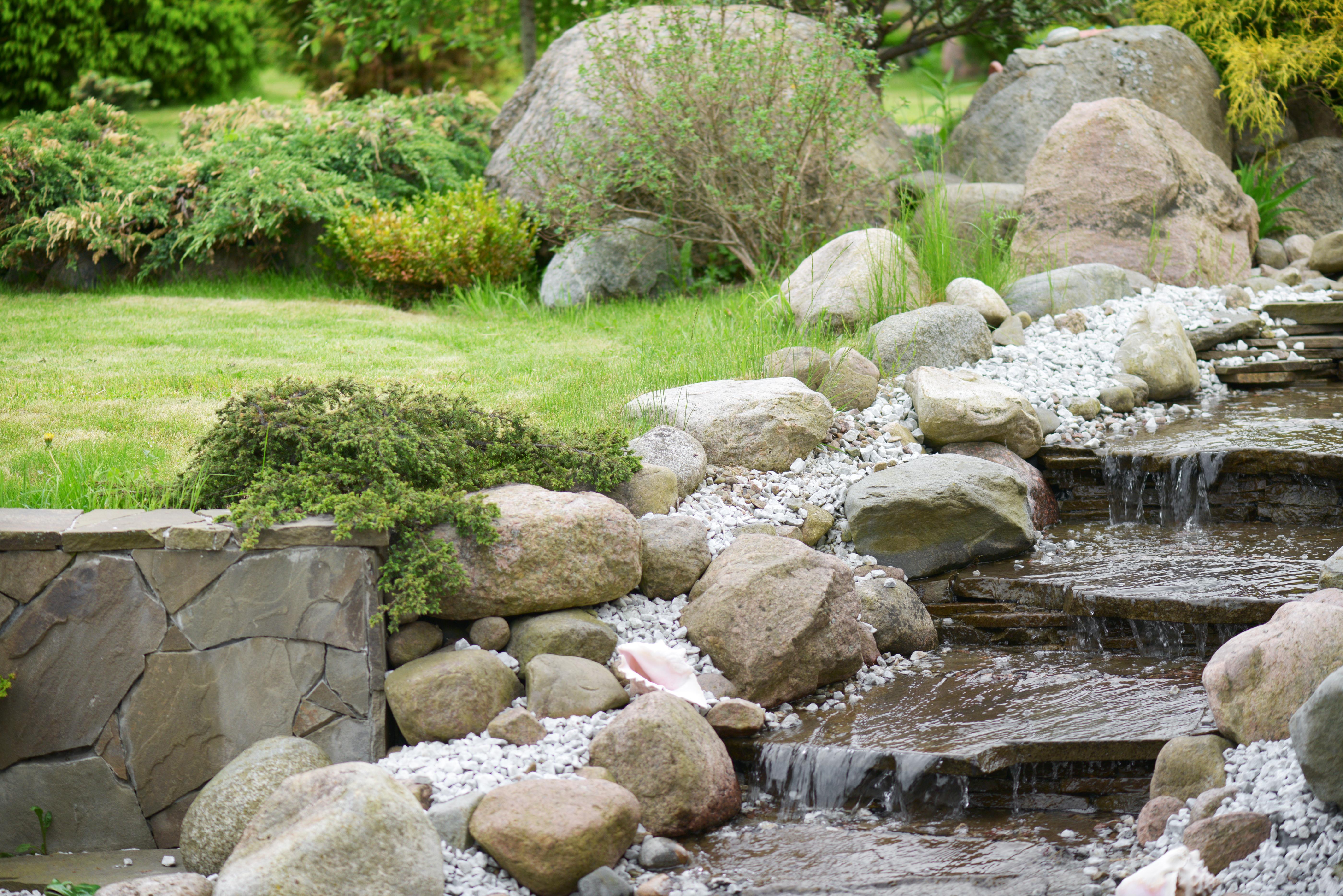 River Rock Vs Mulch Home Guides Sf Gate