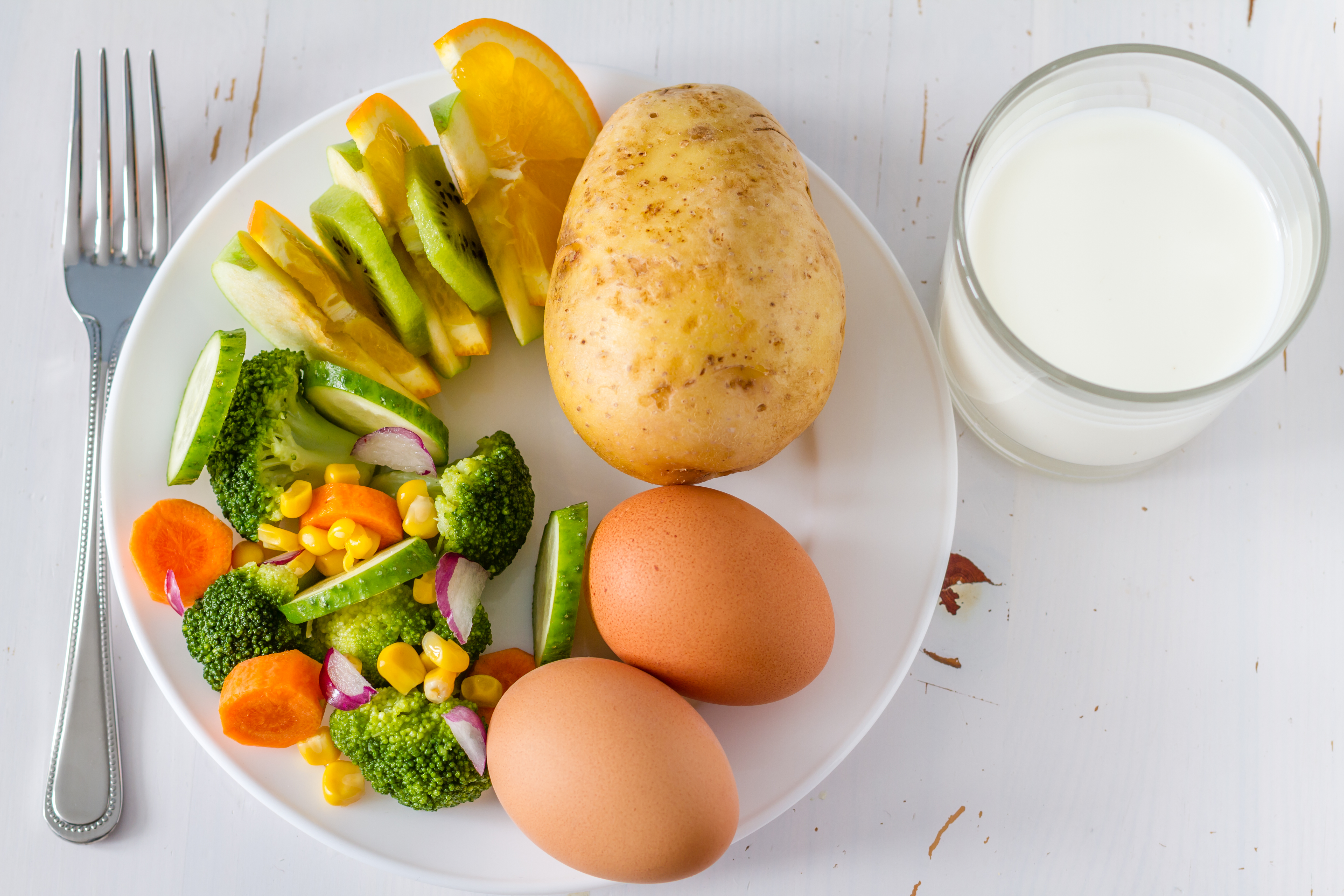 A List of the Major Nutrients Provided by Each Food Group