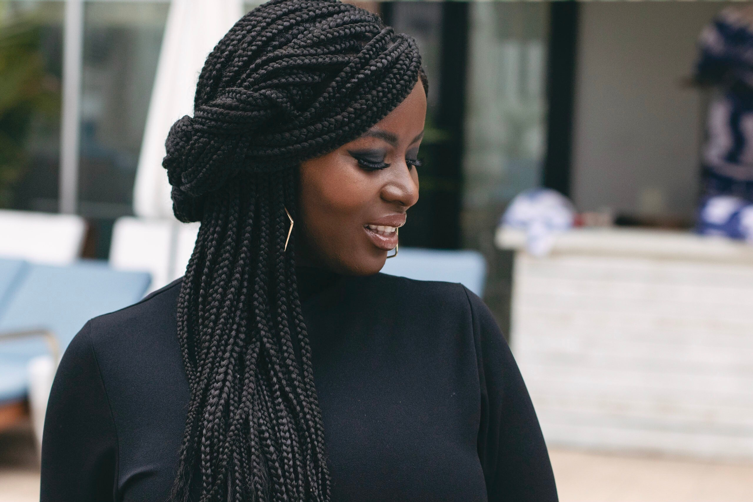 how to rock braided hair styles without damaging your edges