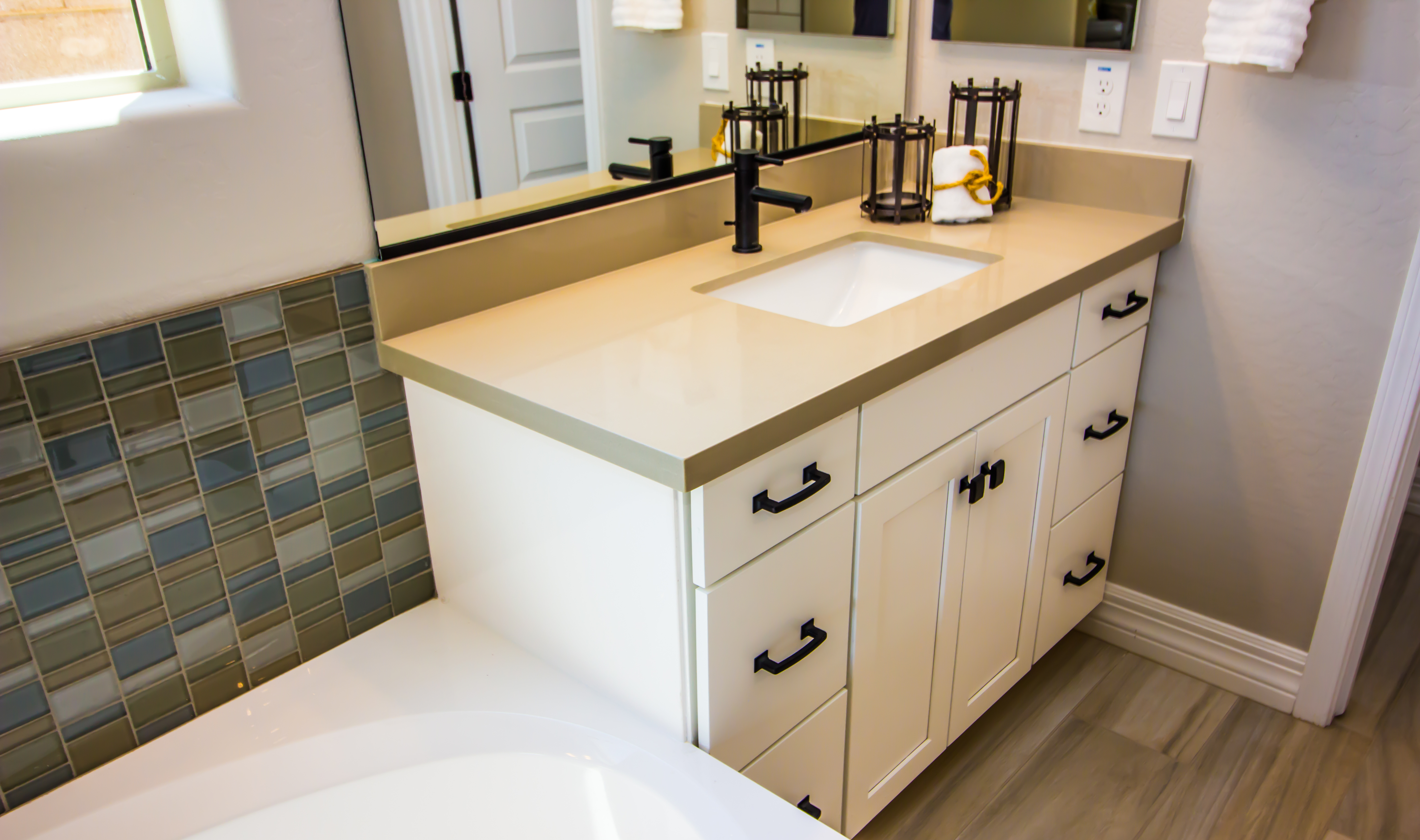 How To Install A Glacier Bay Vanity Sink Hunker