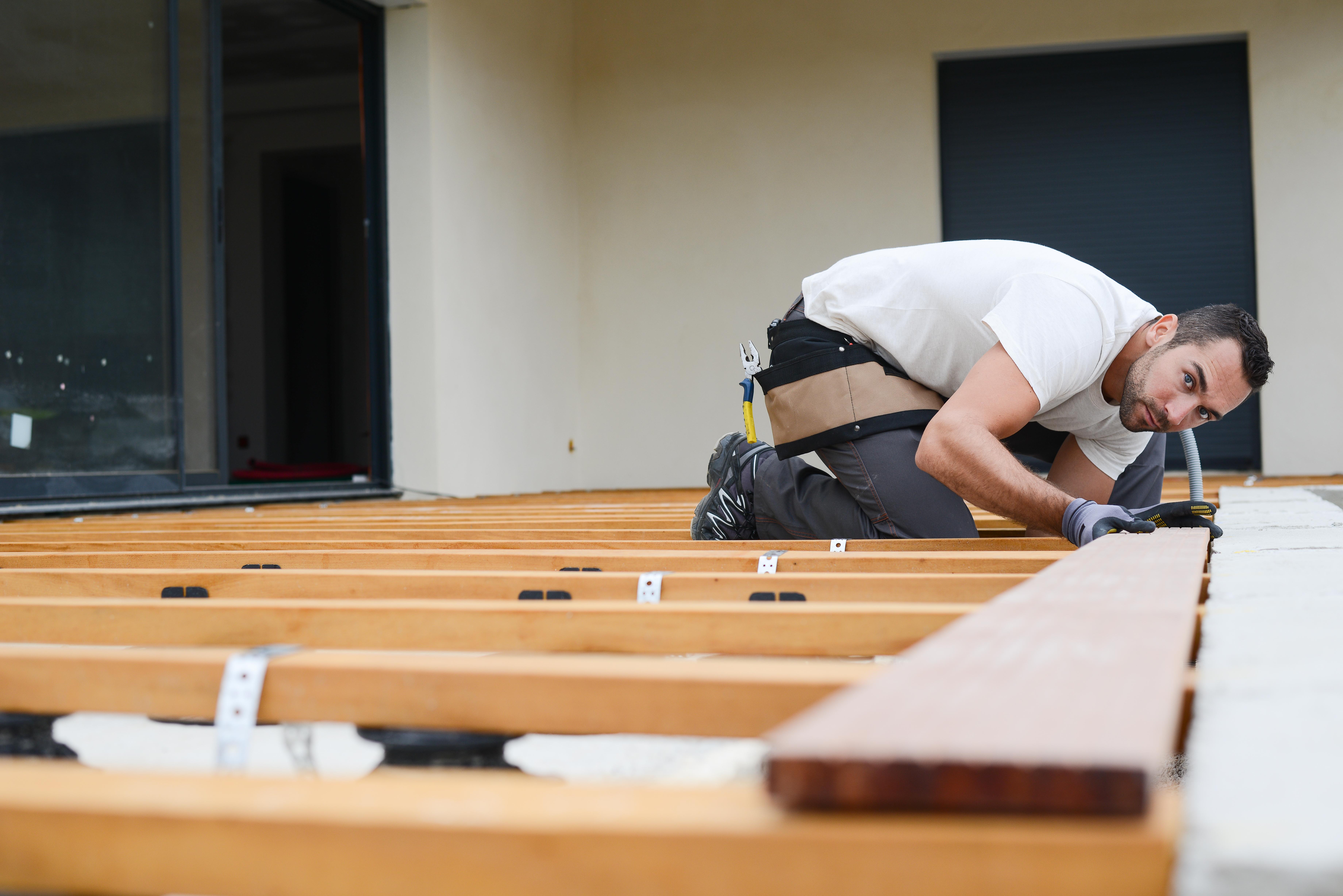 Proper Spacing for Deck Footings | Hunker