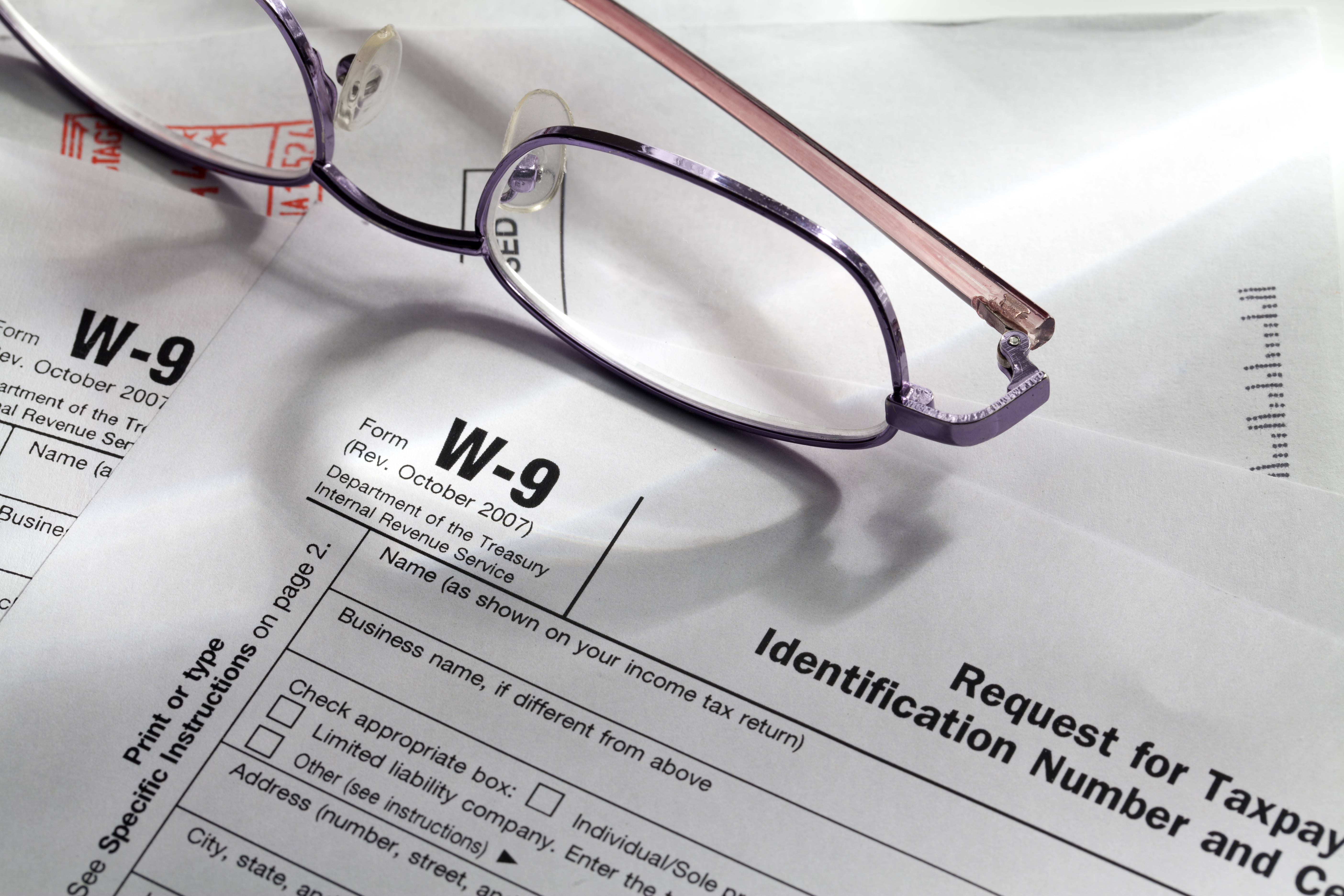 How To Fill Out A W 9 If Youre A Private Contractor Chron